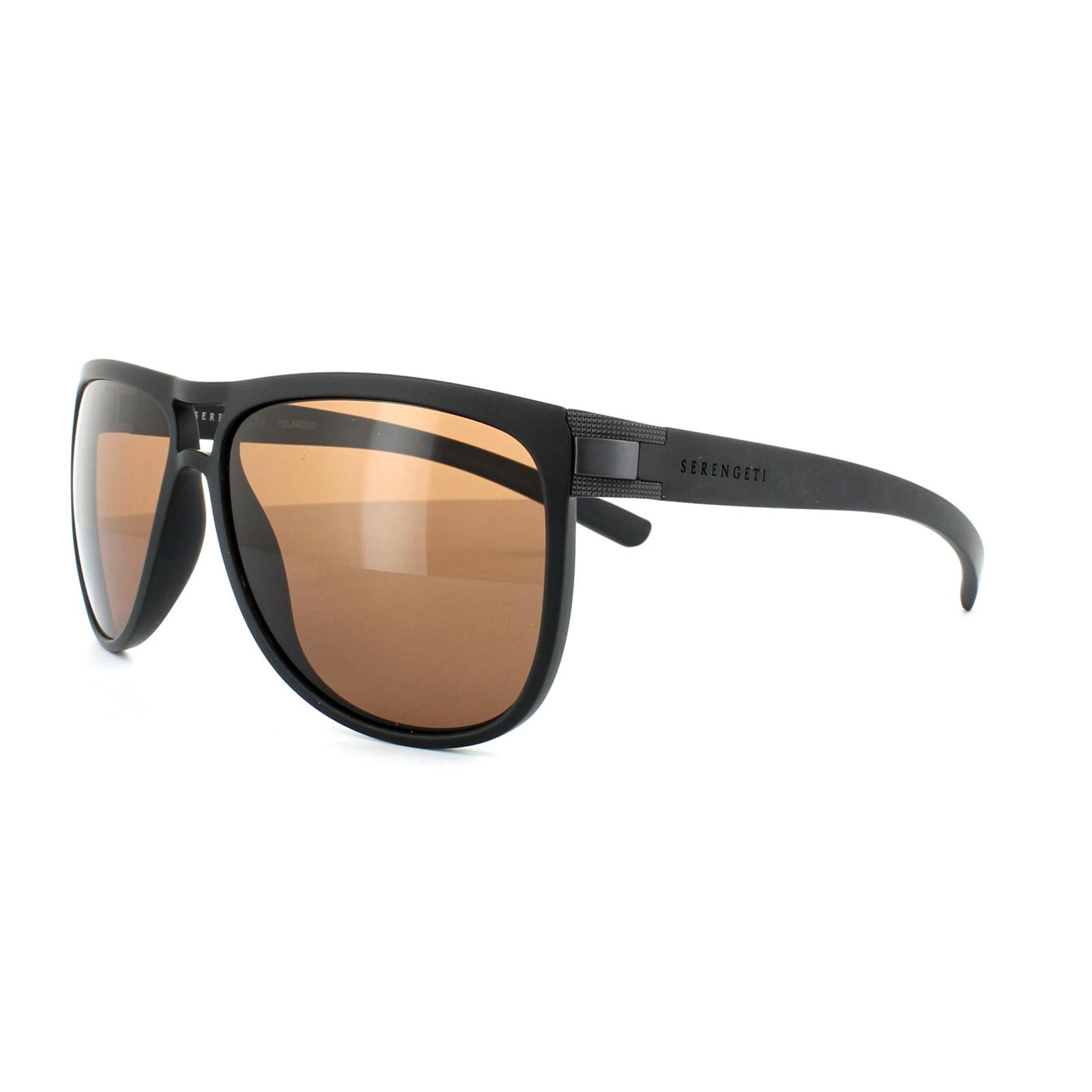 89577070e9 CENTINELA Serengeti gafas de sol Verdi 7937 marrón Arena conductores negro  polarizado