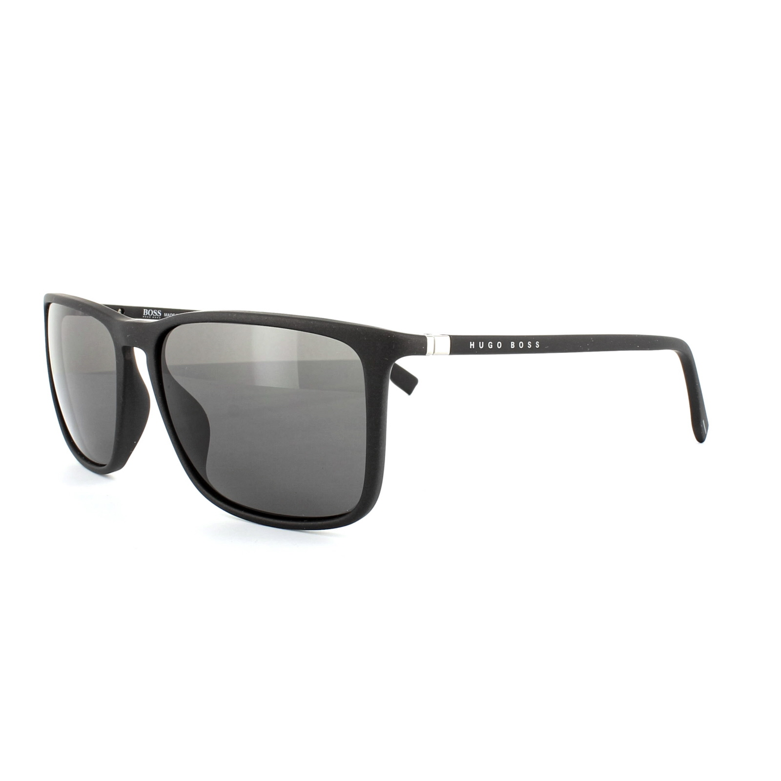 ded1ca884715 Hugo Boss Sunglasses 0665 V3Q Y1 Black Grey 762753560483