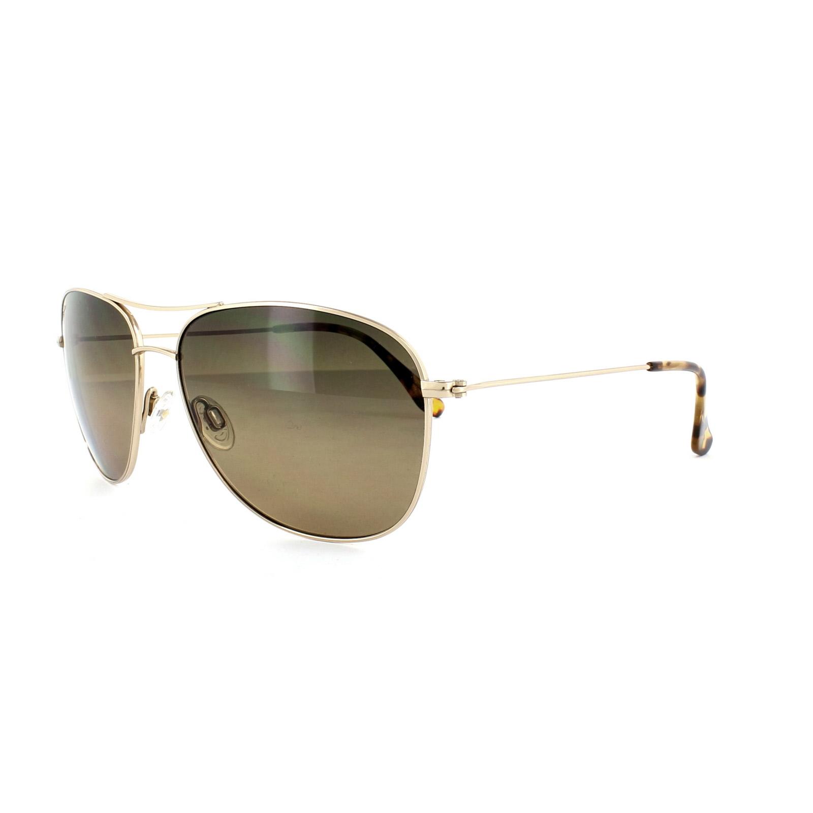 221fb2e533a63 Details about Maui Jim Sunglasses Cliff House HS247-16 Gold HCL Bronze  Polarized