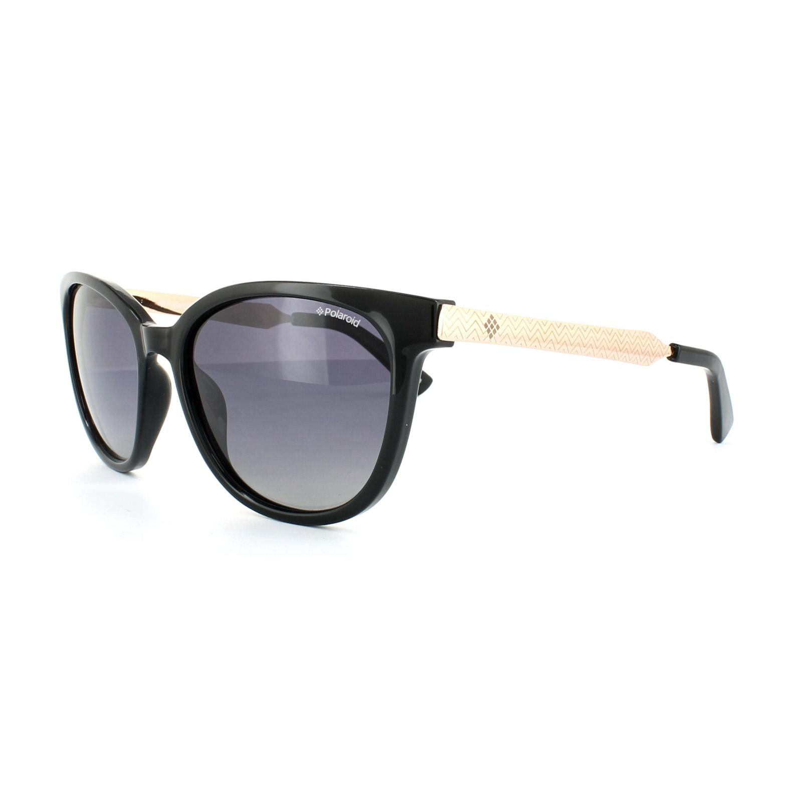 Polaroid Damen Sonnenbrille » PLD 4031/S«, schwarz, D28/IX - schwarz/grau