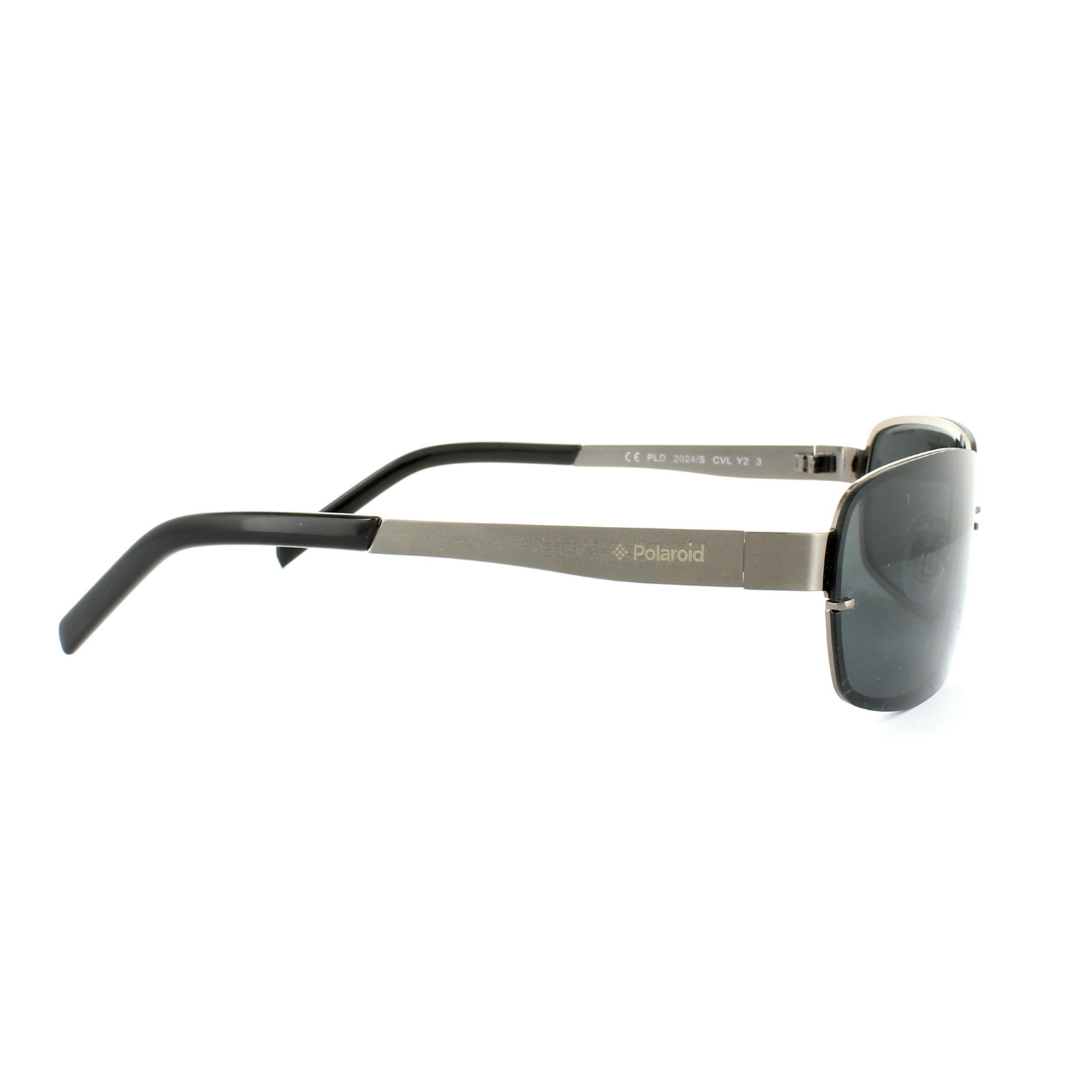 Polaroid Sunglasses 2024//S N1B H8 Ruthenium Grey Black Green Polarized