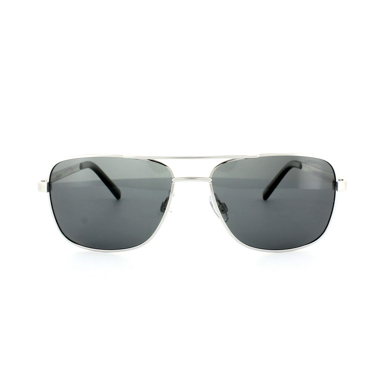 Sentinel Polaroid Sunglasses 2029 S 010 Y2 Palladium Silver Grey Grey  Polarized bb619103b3