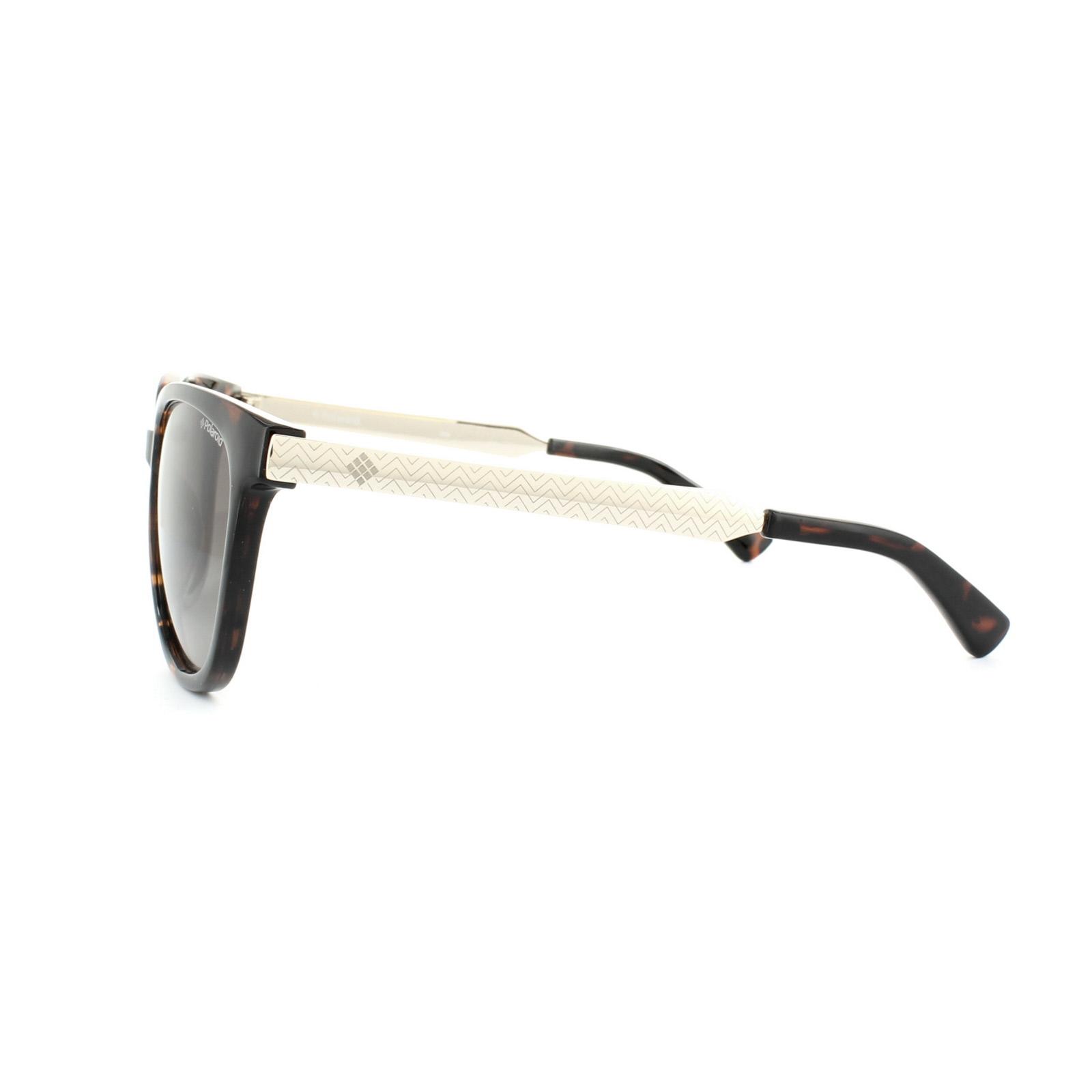 50d4aa0ce Sentinel Polaroid Sunglasses 5015/S LLY 94 Havana Gold Brown Polarized