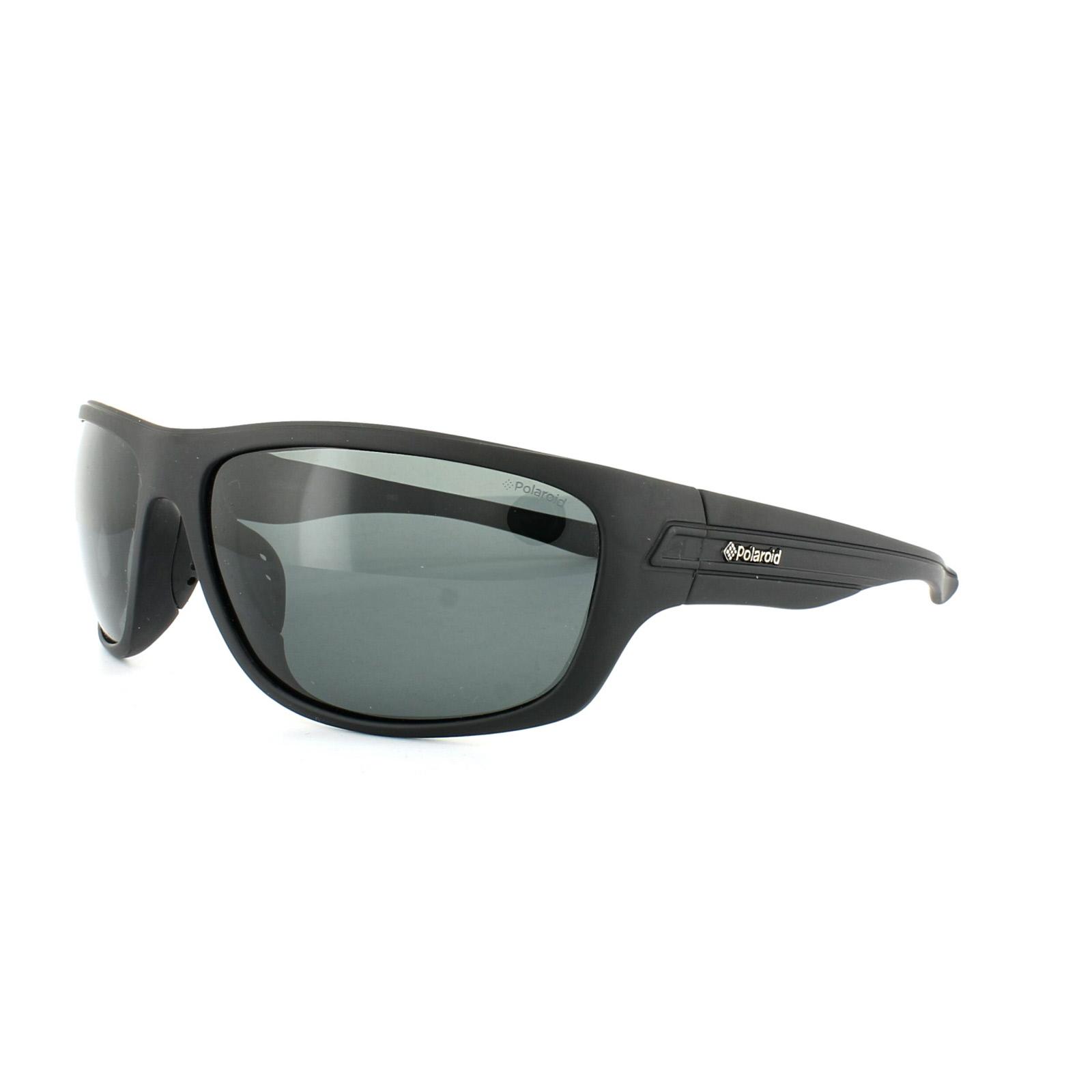 Sportliche Schwarze Rauchgrau Polarisierte Sonnenbrille dKAcztpJ