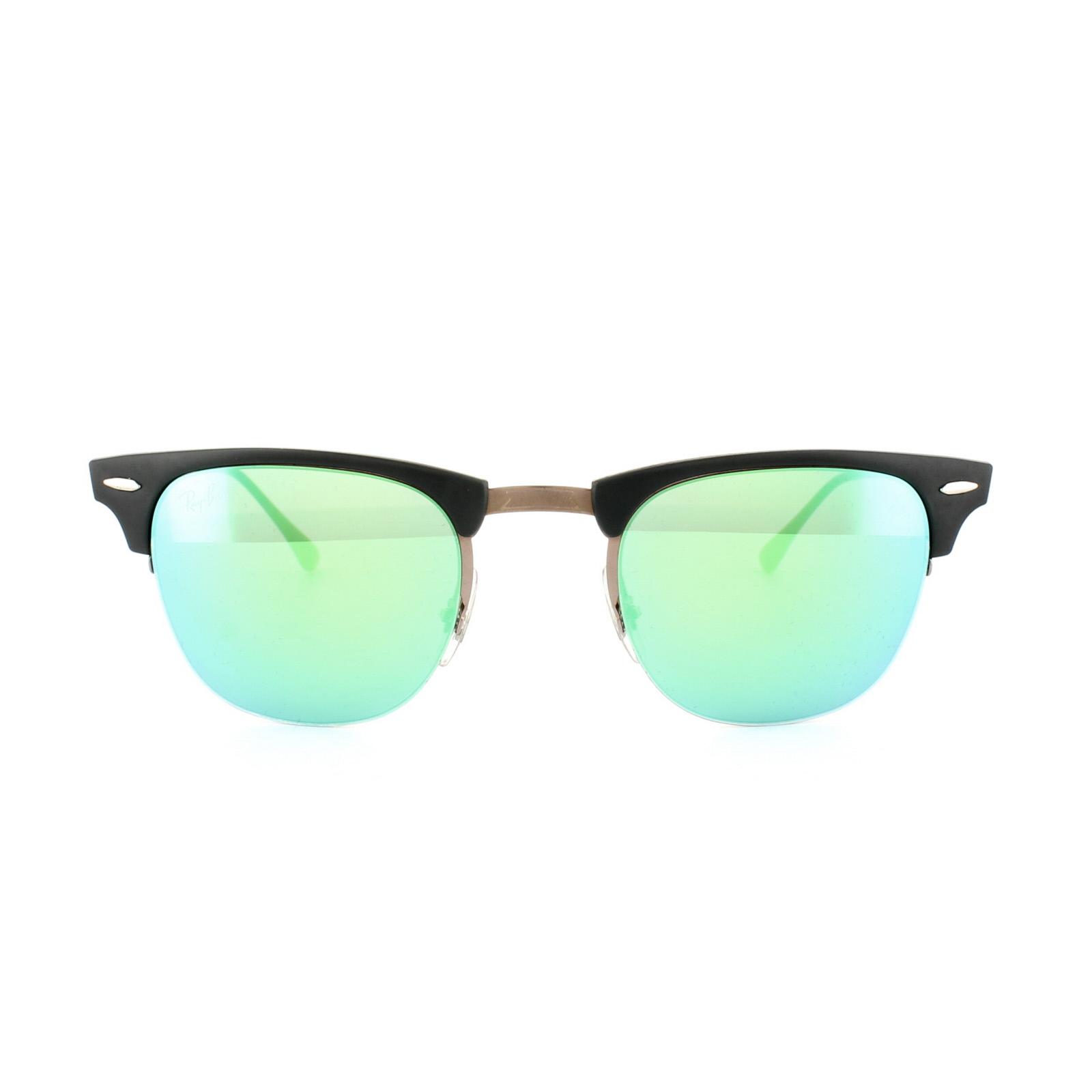 clubmaster ray ban grün