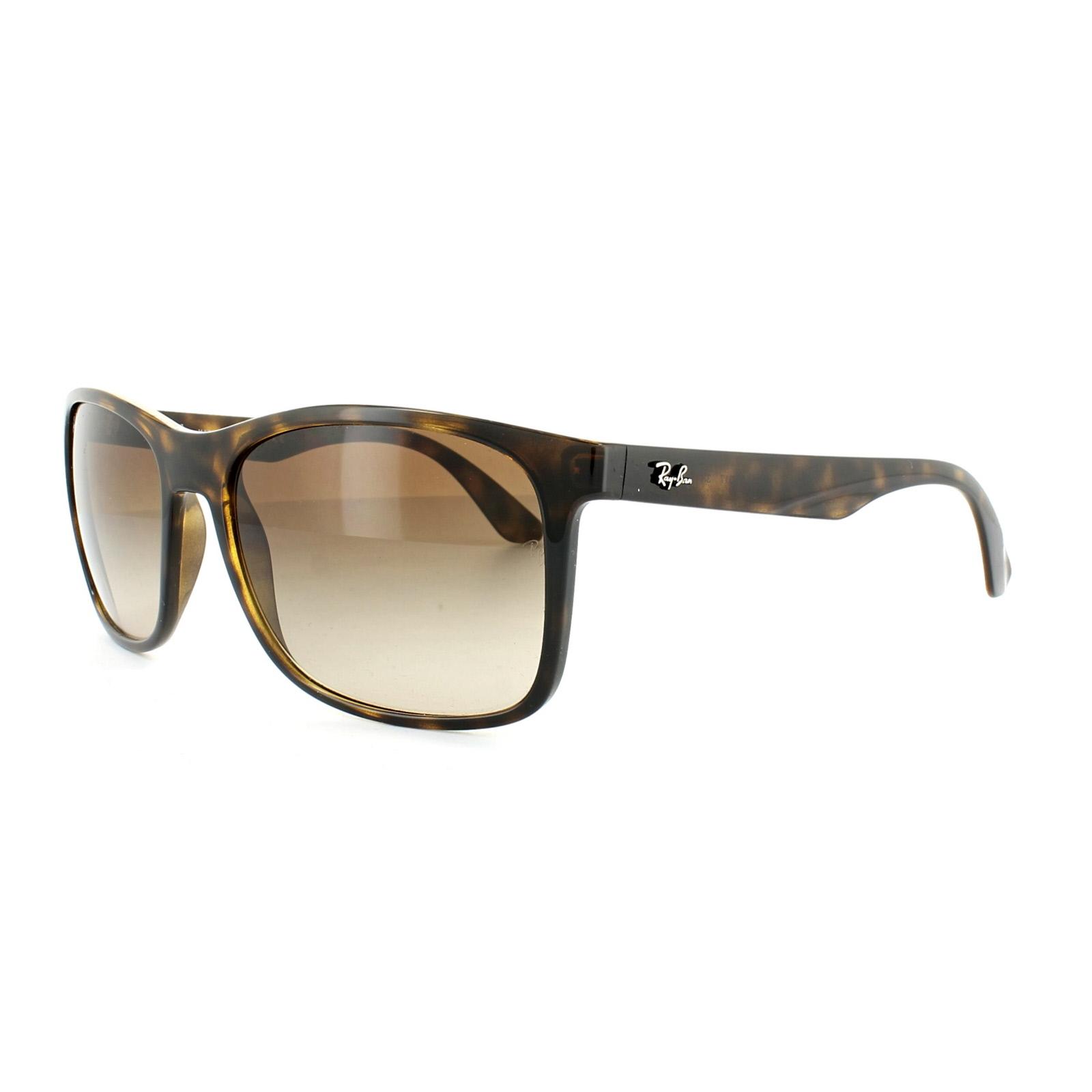 b3f3cd55d538a Sentinel Ray-Ban Sunglasses 4232 710 13 Havana Brown Brown Gradient