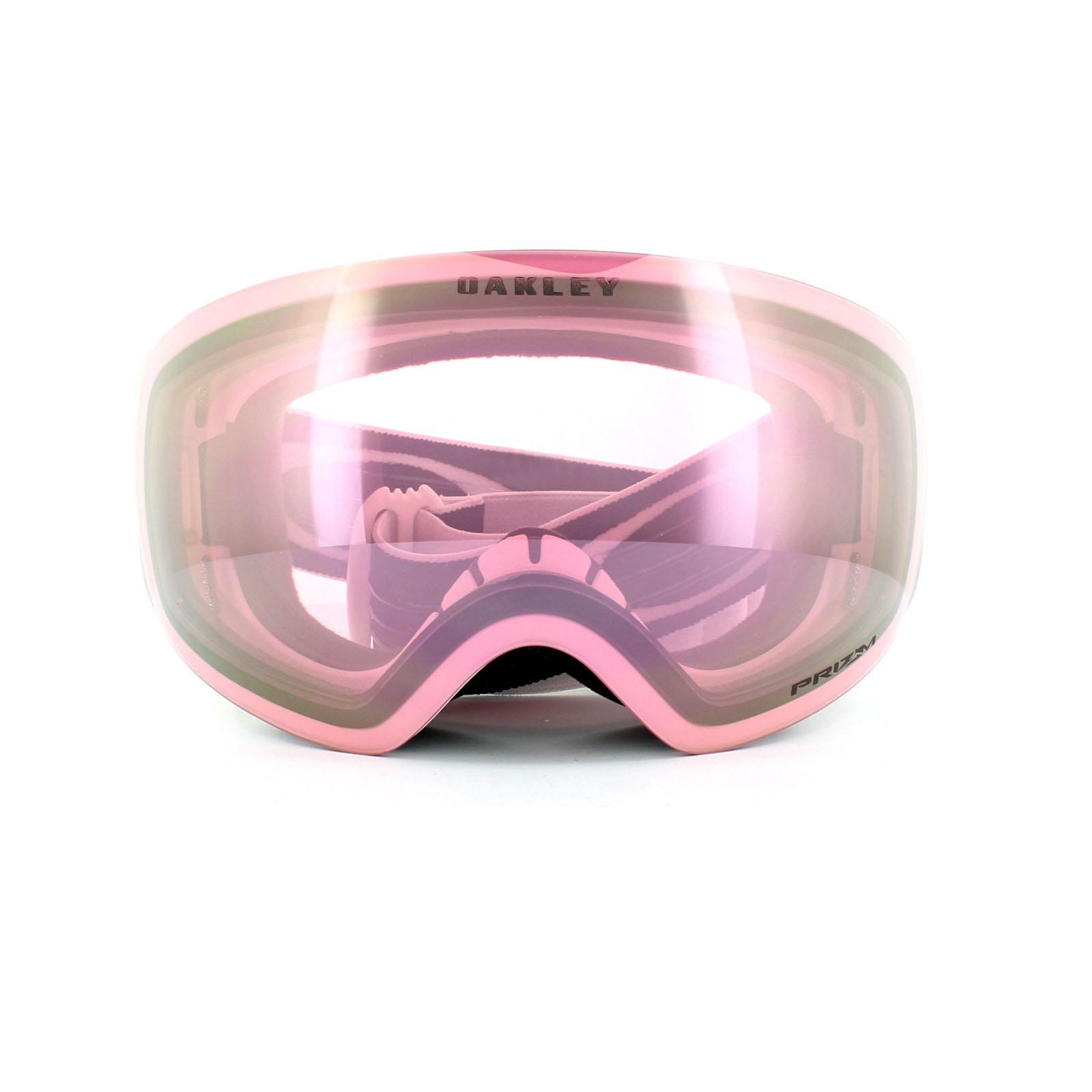 25967748cfb Sentinel Oakley Ski Goggles Flight Deck XM OO7064-48 Matt White Prizm HI  Pink Iridium
