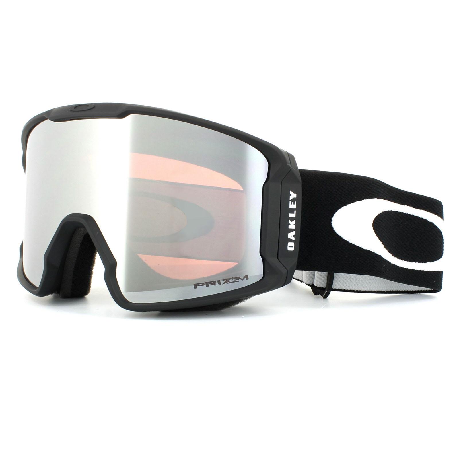 74d14e78f0357 Sentinel Oakley Ski Goggles Line Miner OO7070-01 Matt Black Prizm Black  Iridium