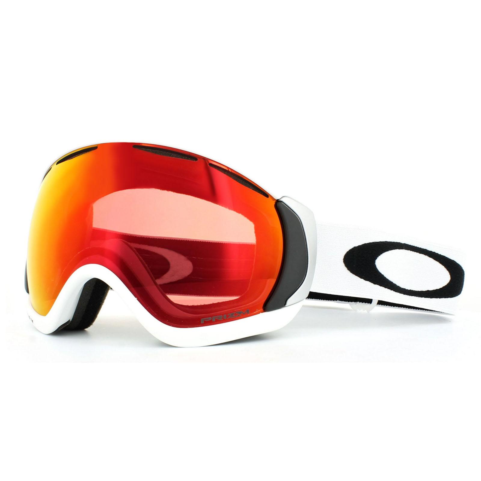 795ce4cb9f Sentinel Oakley Ski Goggles Canopy OO7047-50 Matt White Prizm Torch Iridium