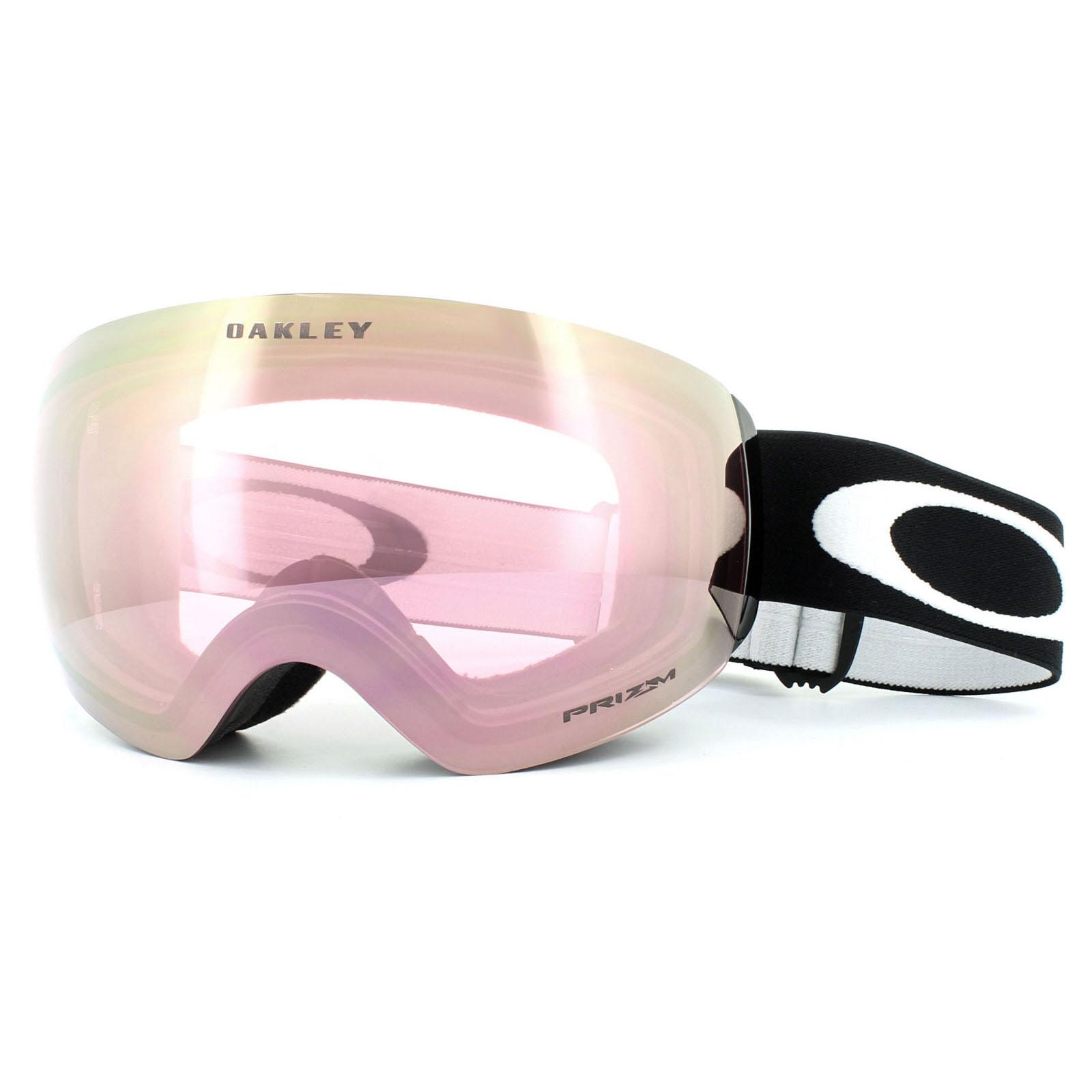 b58fe2edc09e Sentinel Oakley Ski Goggles Flight Deck XM OO7064-45 Matt Black Prizm HI  Pink Iridium