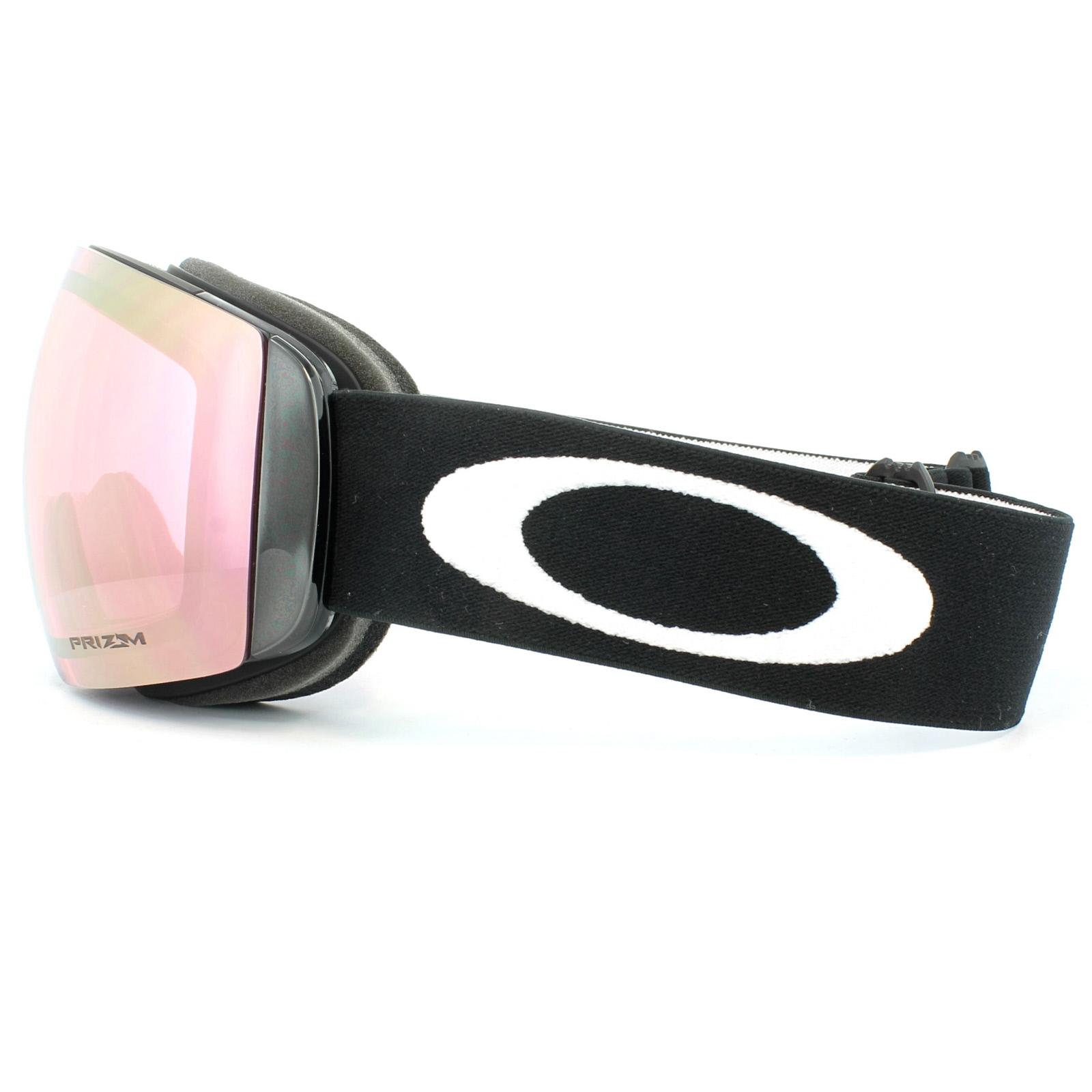 52805fd37f2 Sentinel Oakley Ski Goggles Flight Deck XM OO7064-45 Matt Black Prizm HI  Pink Iridium