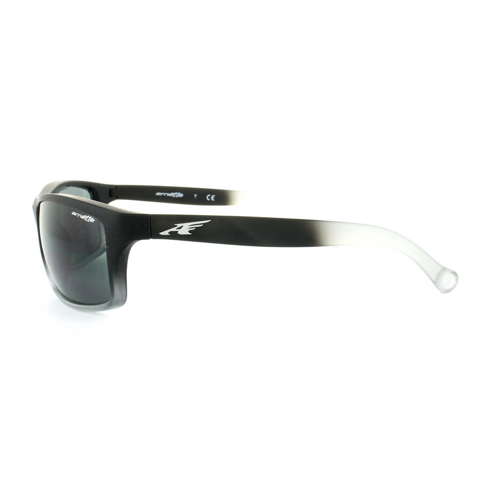 a617afe197 CENTINELA 4207 gafas de Sol Arnette caldera 225387 Fuzzy negro gris gris  translúcido