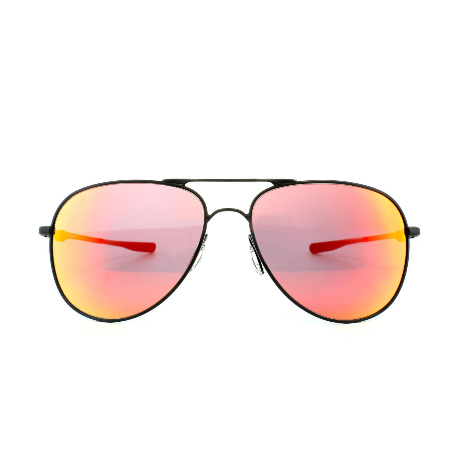 5f0c6e6d87 Sentinel Oakley Sunglasses Elmont M OO4119-04 Satin Black Ruby Iridium
