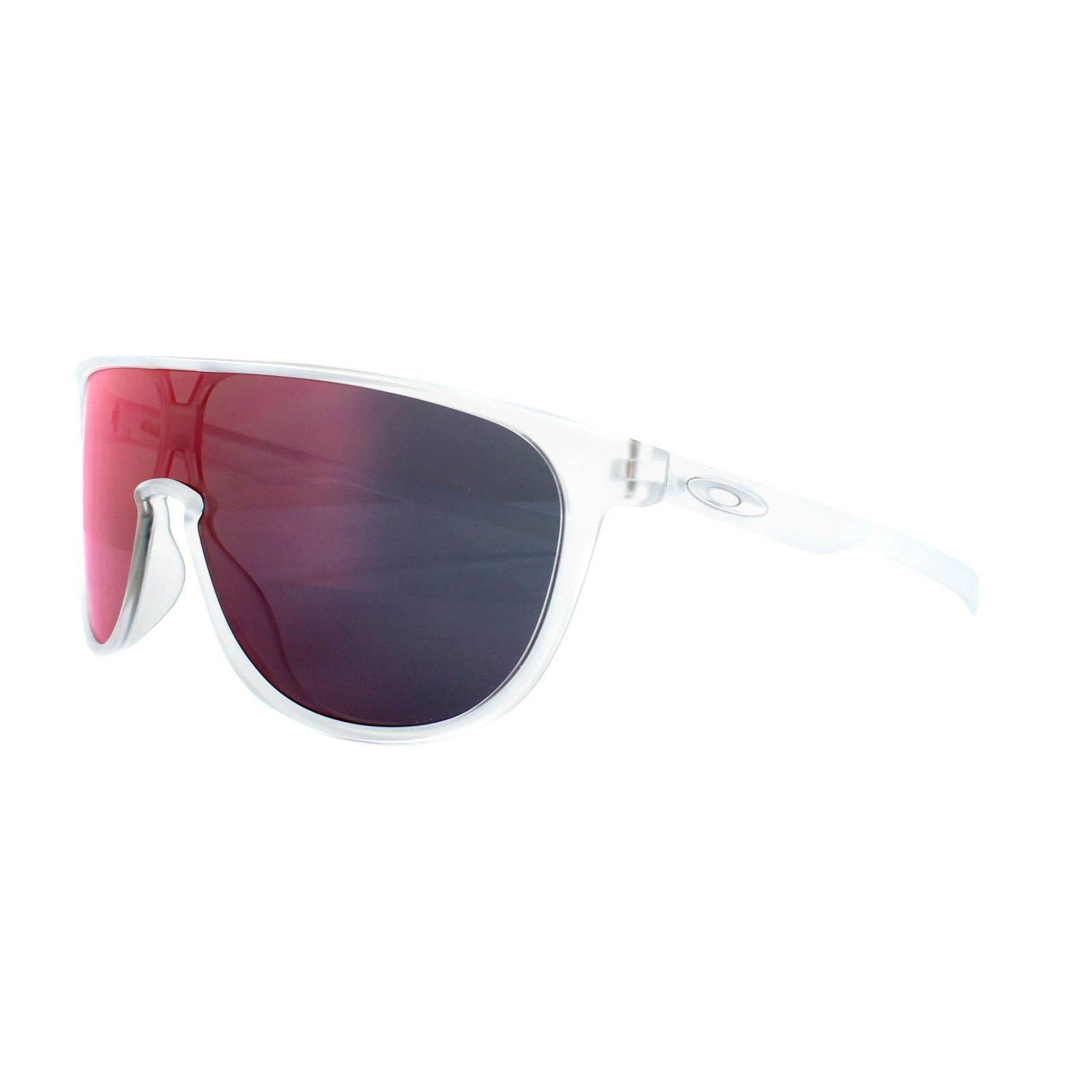 37fbe6afa73 Sentinel Oakley Sunglasses Trillbe OO9318-03 Matt Clear Torch Iridium