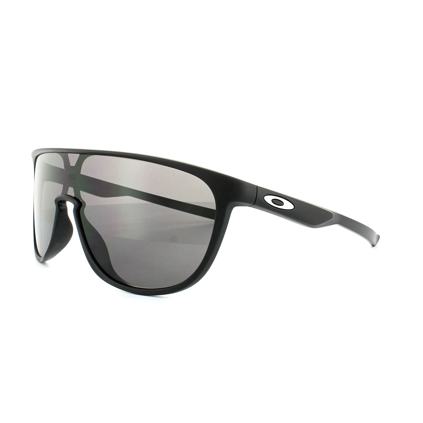 730696021b7 Sentinel Oakley Sunglasses Trillbe OO9318-05 Matt Black Warm Grey