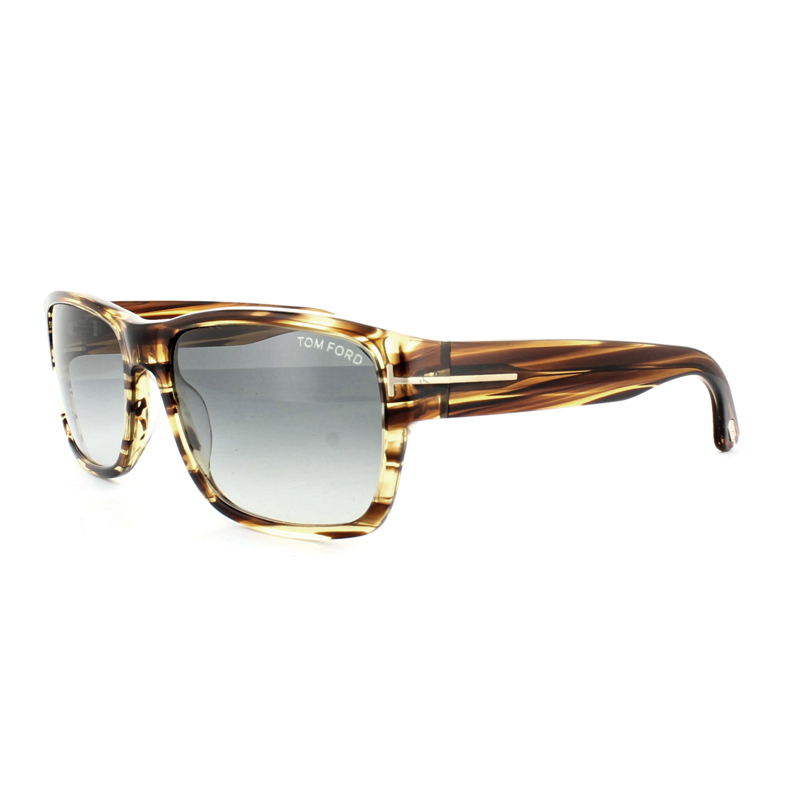 9f4114fcf00 Sentinel Tom Ford Sunglasses 0445 Mason 50B Brown Marble Grey Gradient