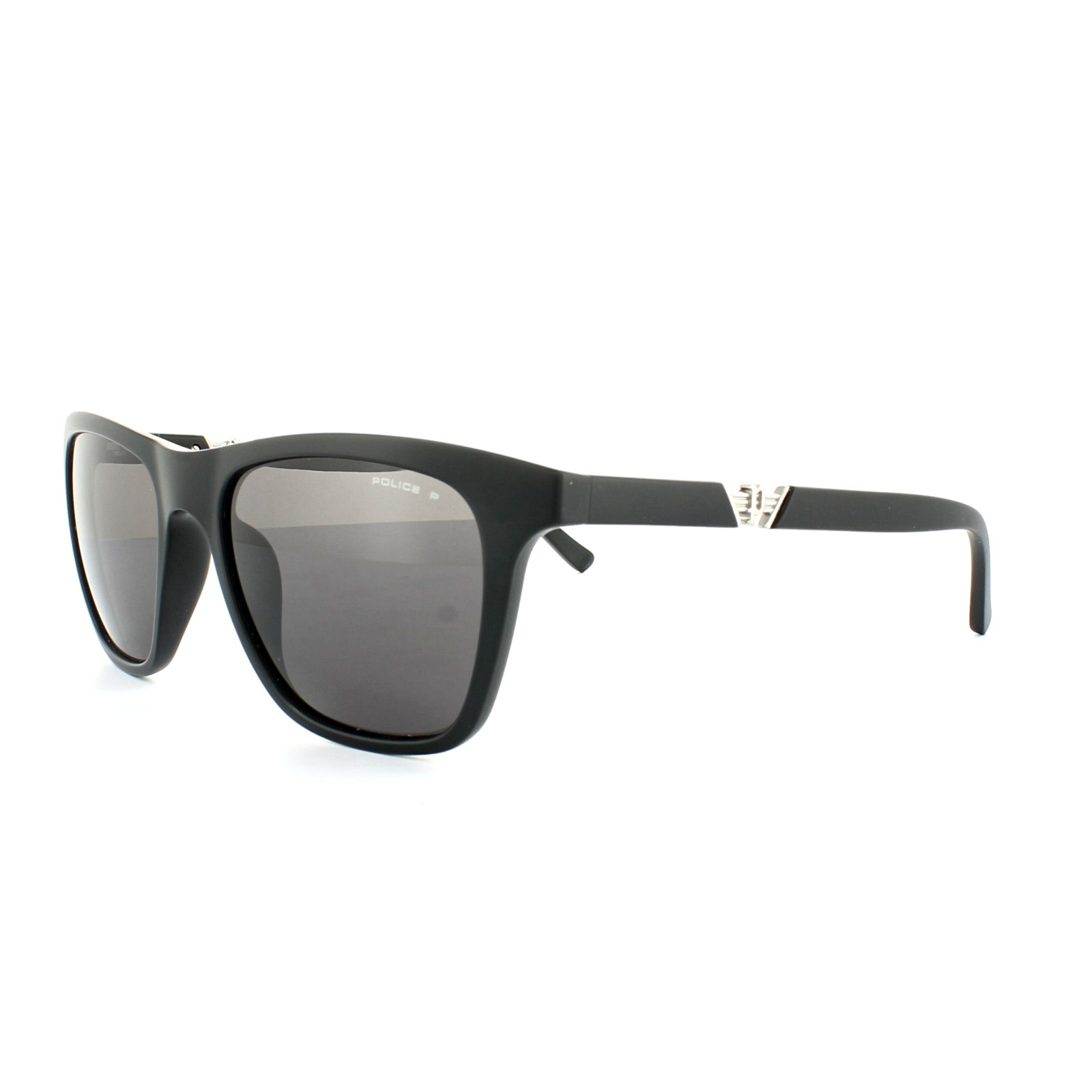 97a0729dab4 Details about Police Sunglasses S1800M Drift 3 703P Matt Black Grey  Polarized