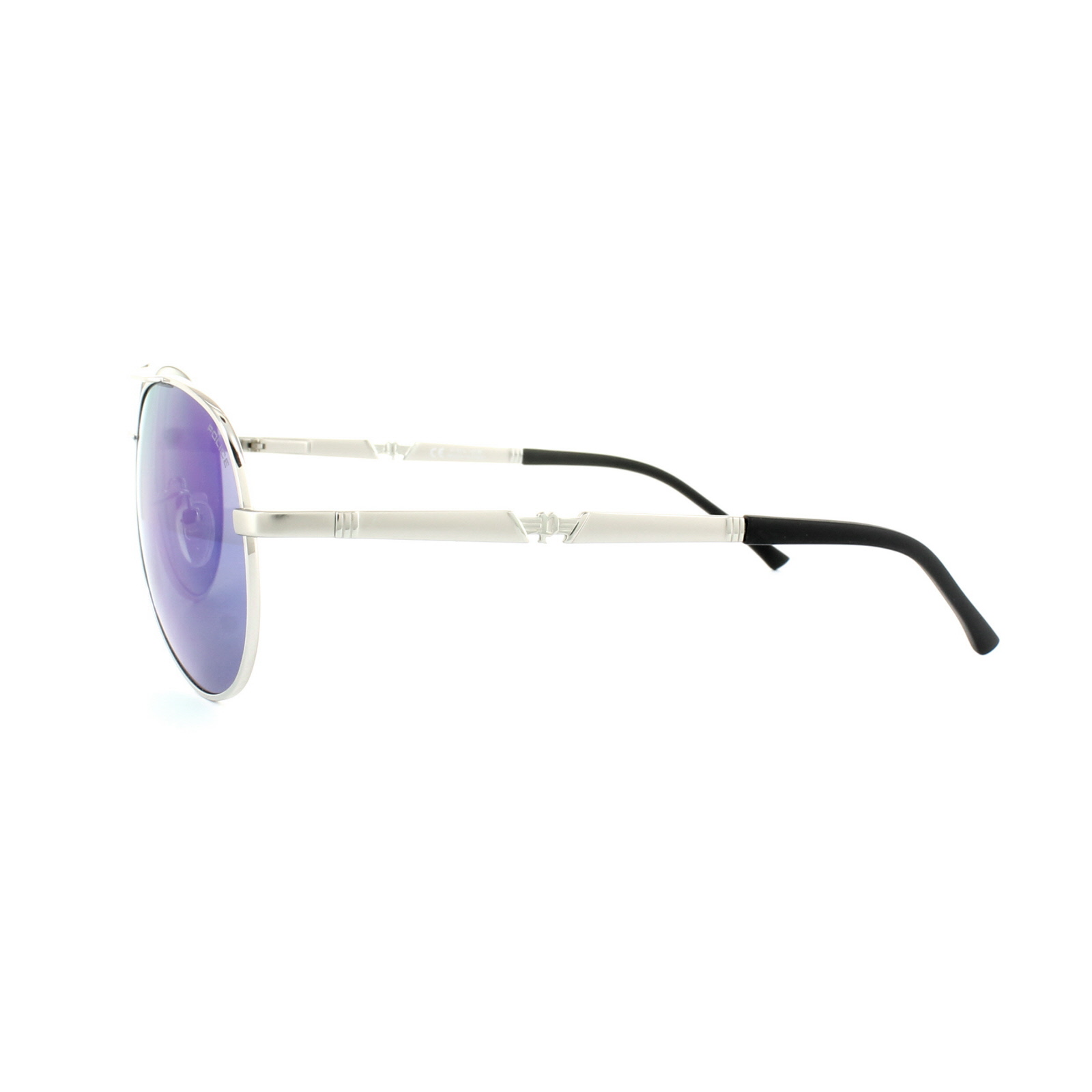 0ae72d6484 Sentinel Police Sunglasses Legend 2 8746 589G Silver Emerald Mirror