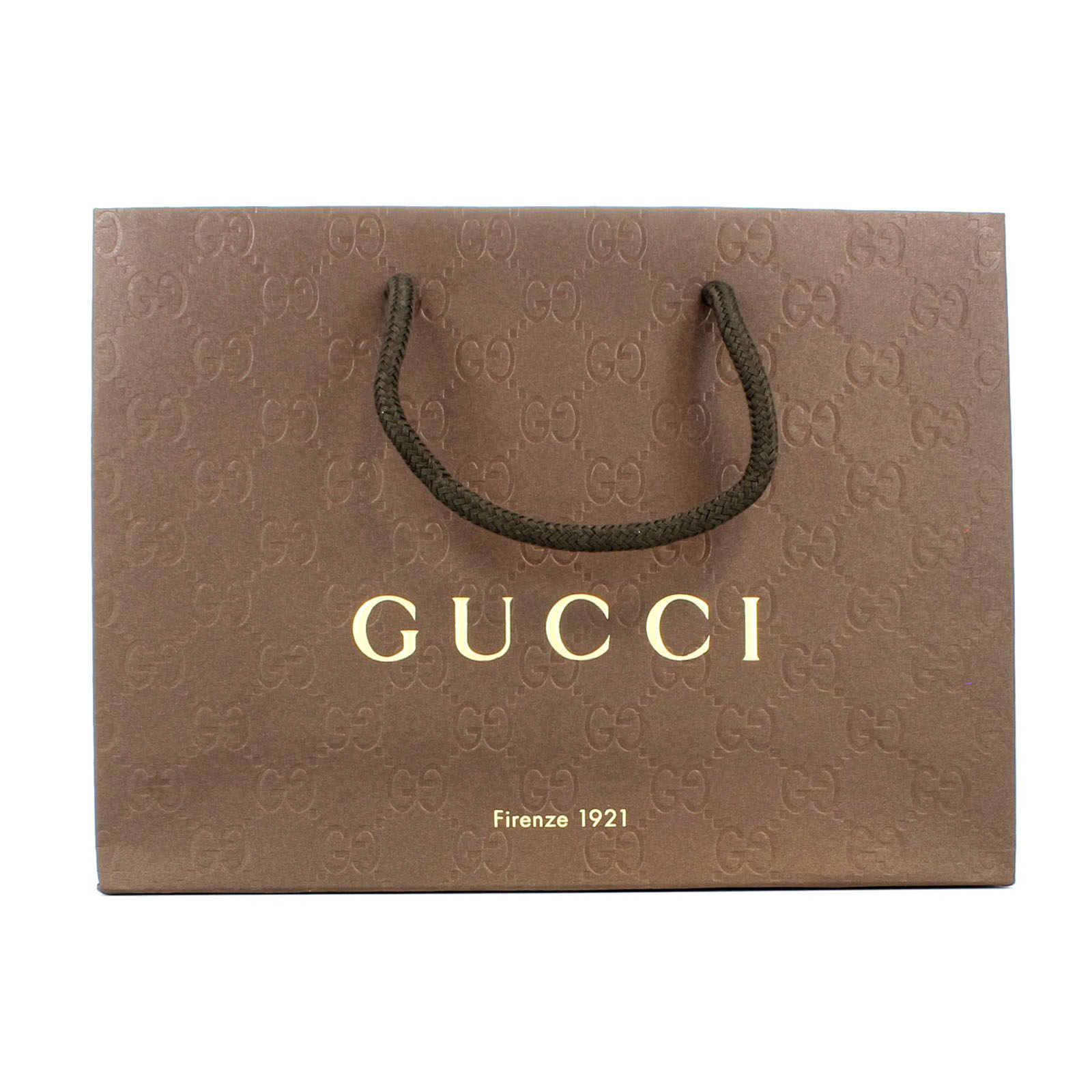 884efec1df1665 Gucci Shopper Paper Carrier Gift Bag pack of 25 Brand New in Wrappers  Genuine Thumbnail 1 ...
