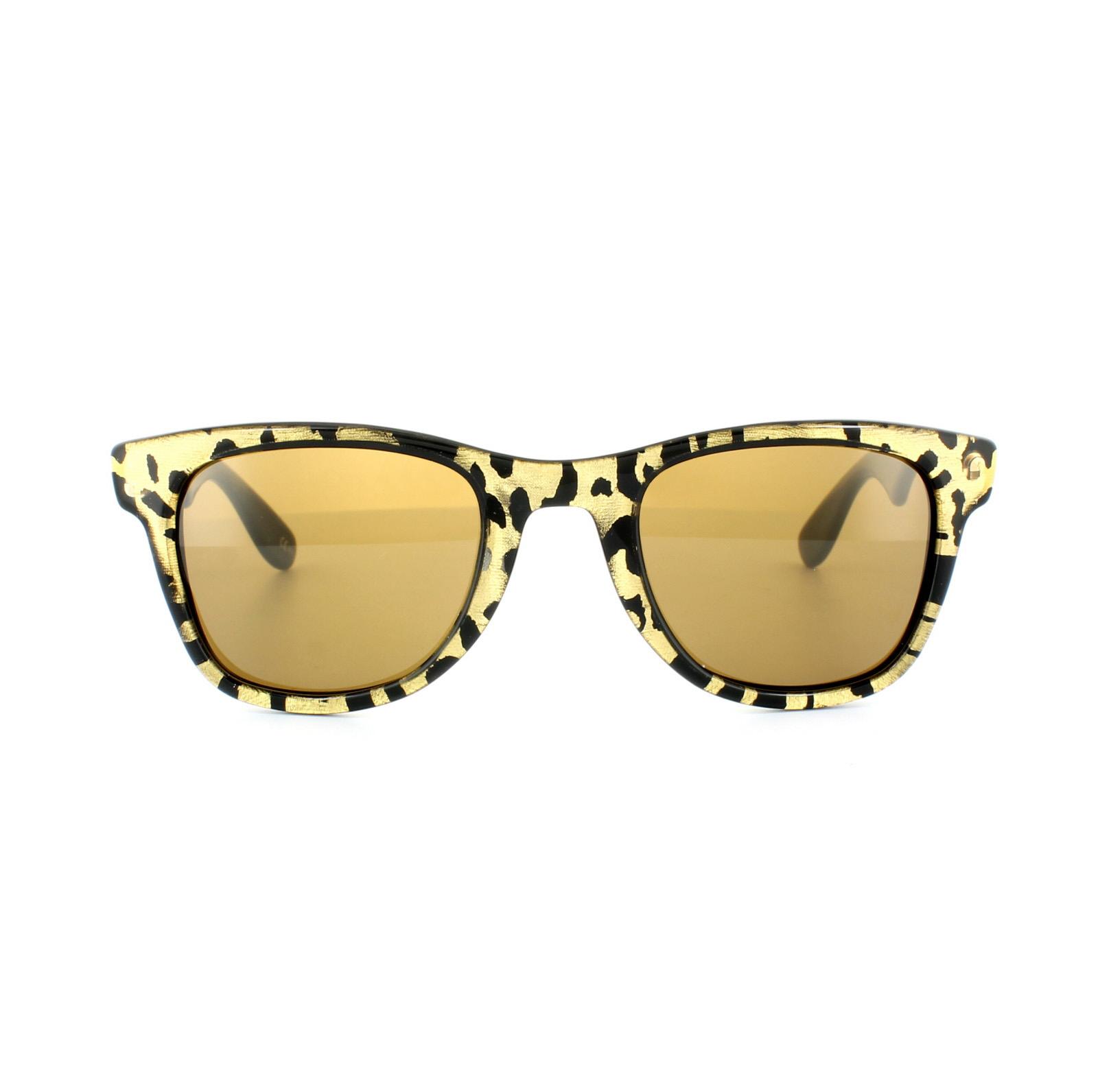 76316fb7338d Sentinel Carrera by Jimmy Choo Sunglasses 6000 JC 3TB VB Panther Brown Gold  Mirror