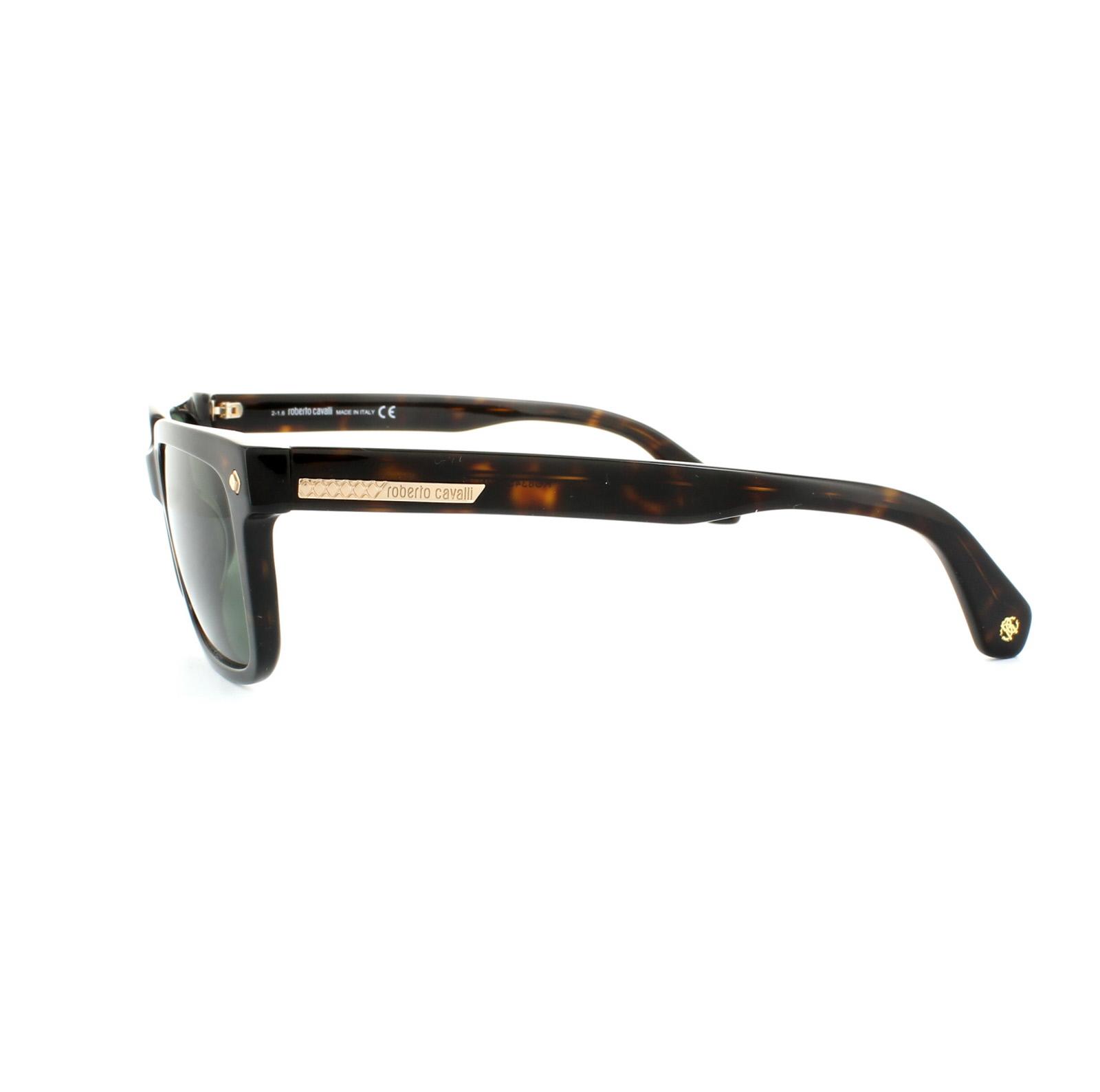 SENTINEL Roberto Cavalli occhiali da sole 834S 52N avana scuro grigio verde aaa0ad3f9f9