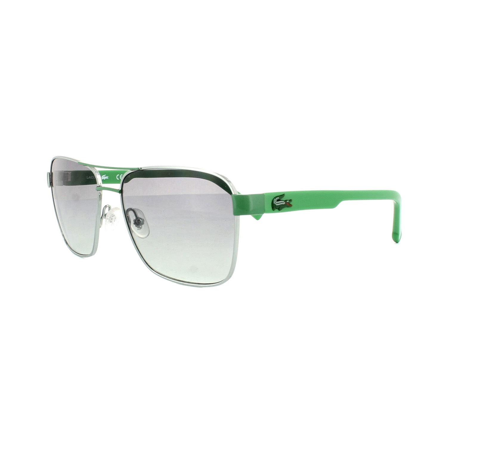 264a99cc122b Sentinel Lacoste Kids Sunglasses L3105S 315 Light Green Green Grey Gradient