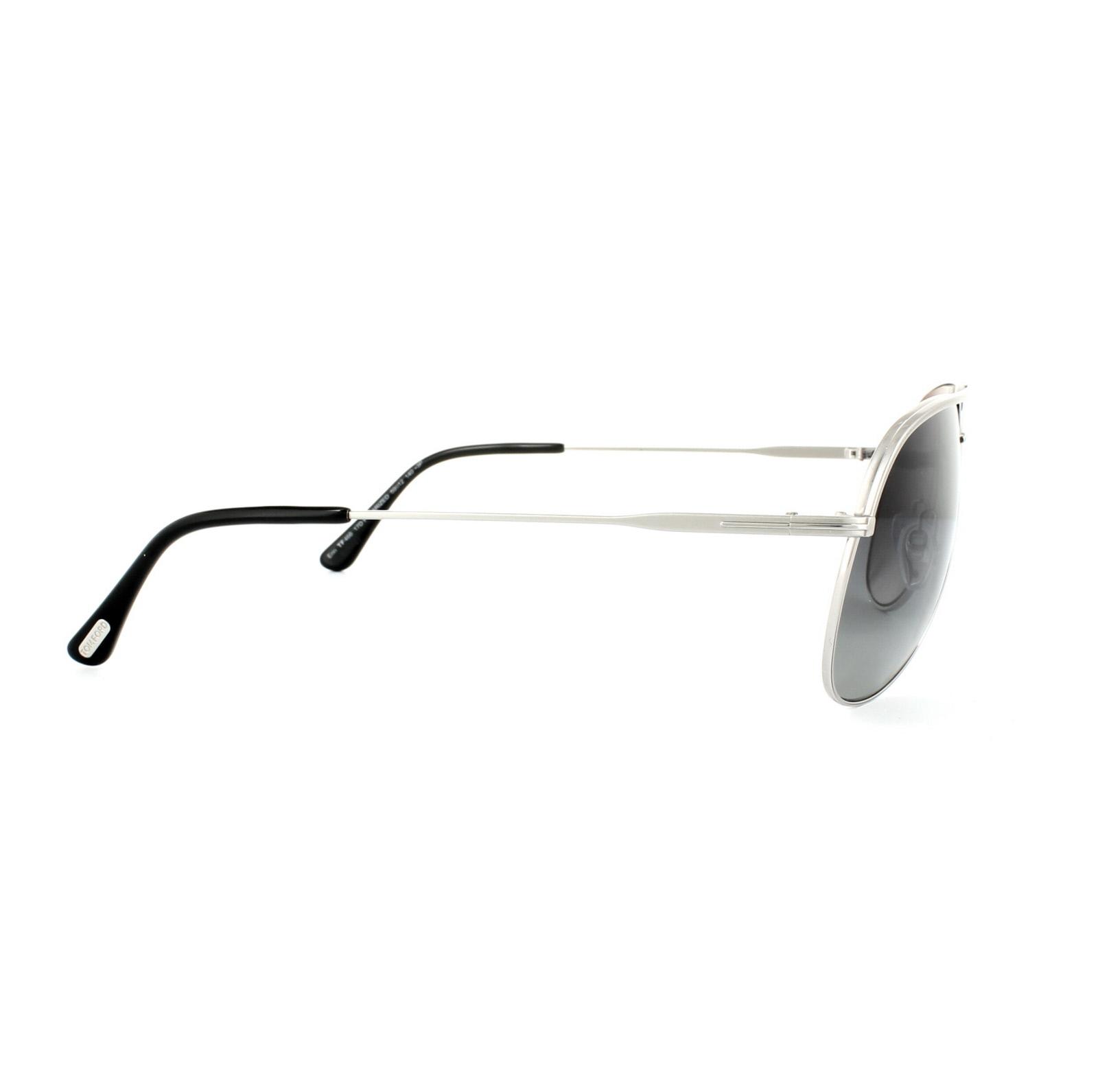 ad61a12e5c6 Sentinel Tom Ford Sunglasses 0466 Erin 17D Matt Palladium Smoke Grey  Polarized