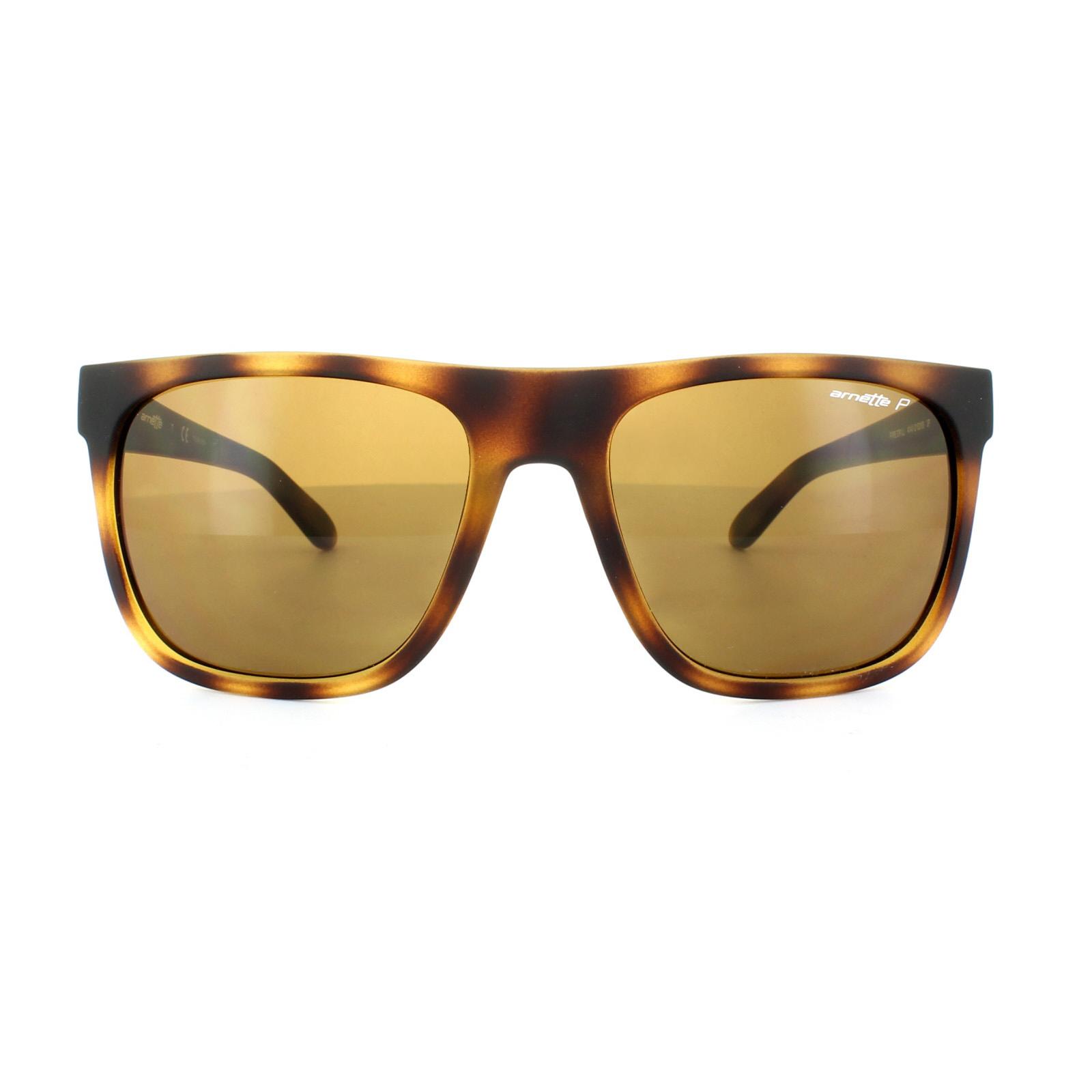 6097ccd4bf91 Sentinel Arnette Sunglasses 4143 Fire Drill 215283 Fuzzy Havana Brown  Polarized