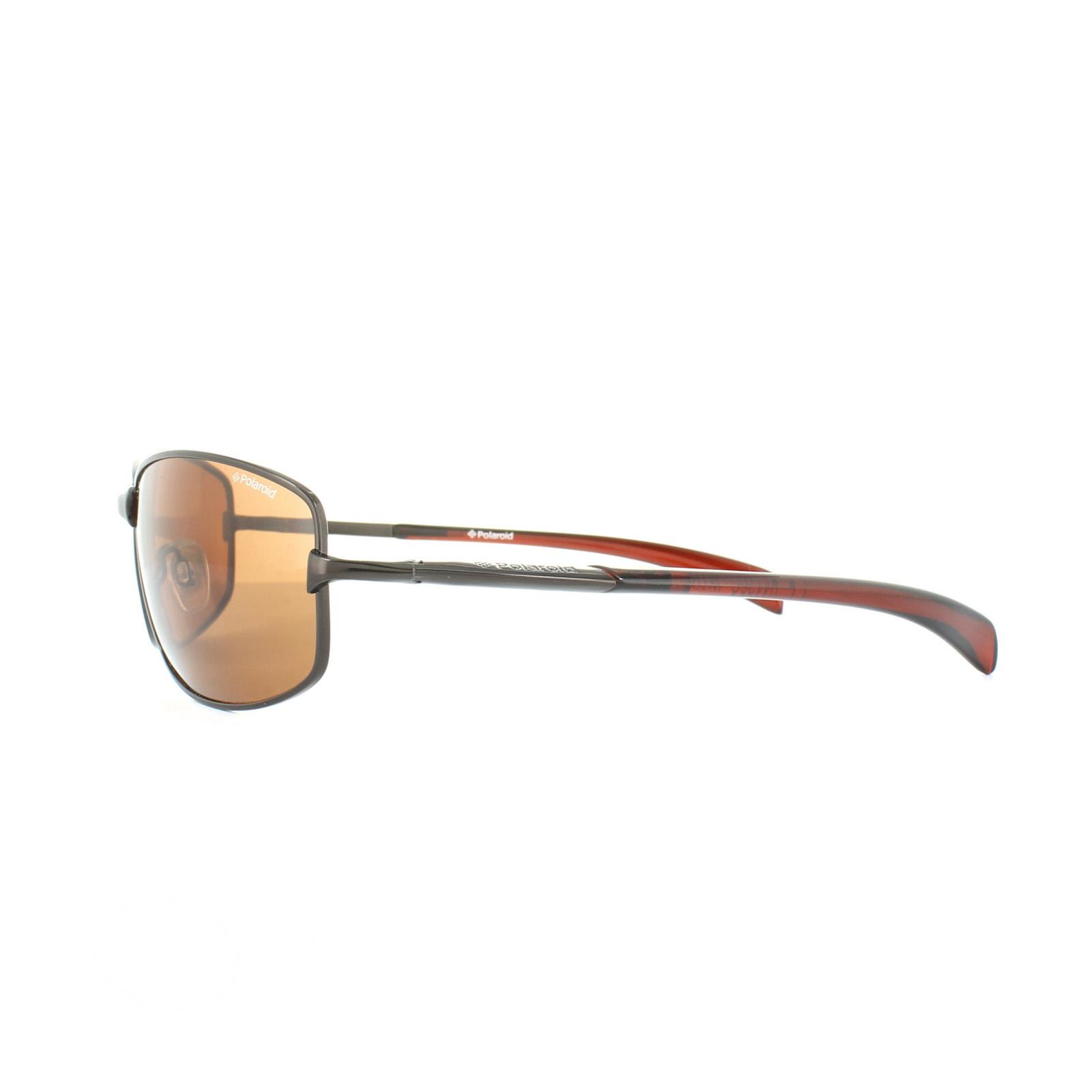 346c9768f328 Sentinel Polaroid Sunglasses P4126 W7D HE Dark Brown Copper Polarized