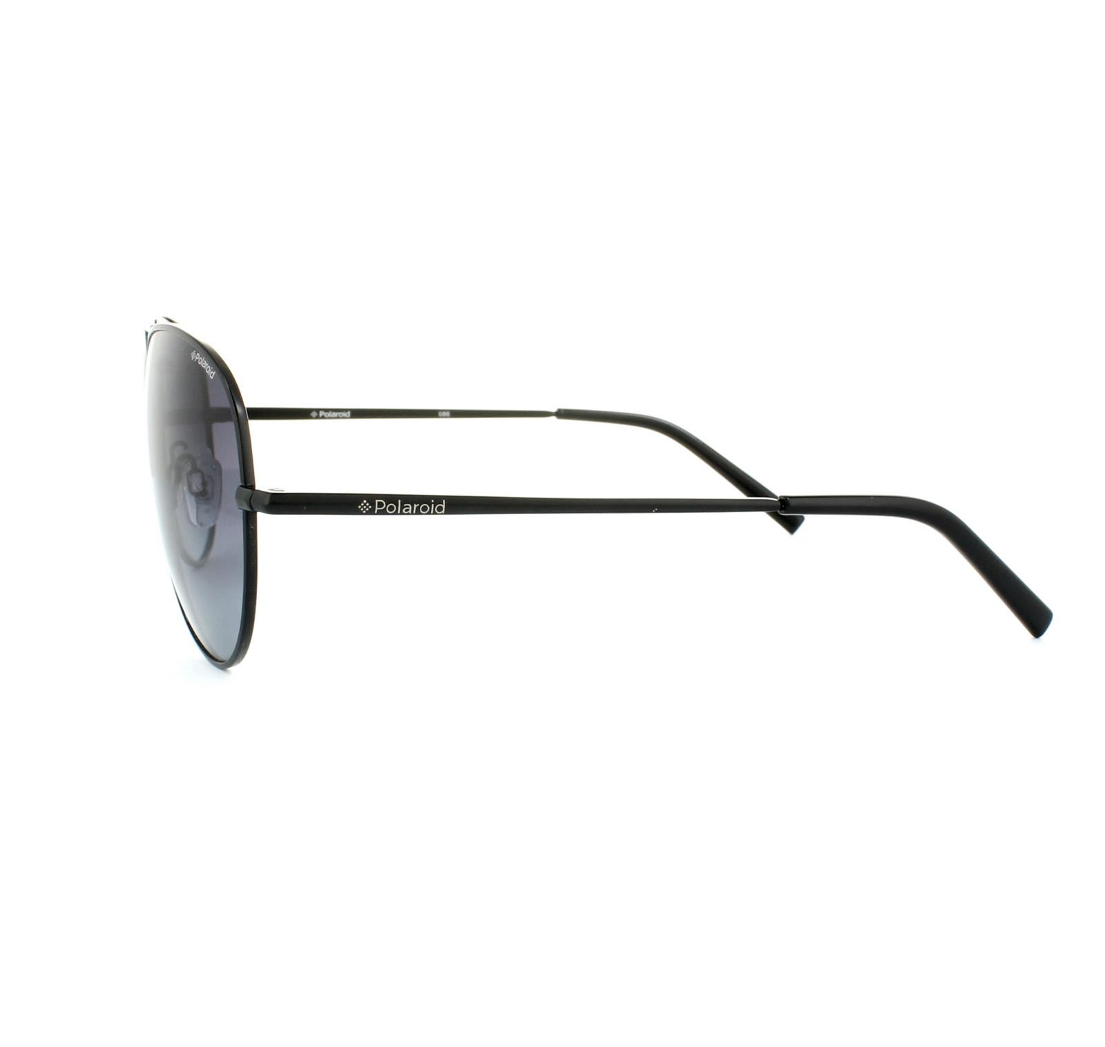 Polaroid Sonnenbrille » PLD 1017/S«, schwarz, 003/WJ - schwarz/grau