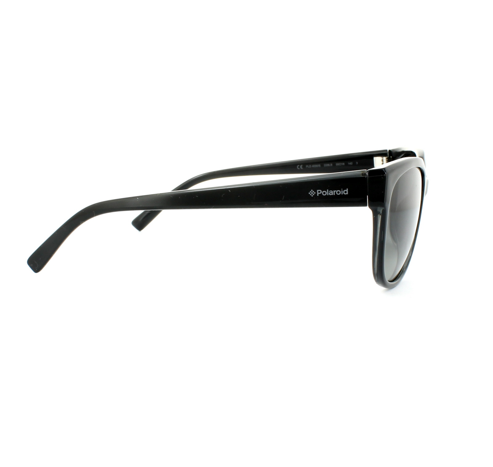Polaroid Sunglasses 4029//S D28 LB Shiny Black Green Grey Gradient Polarized