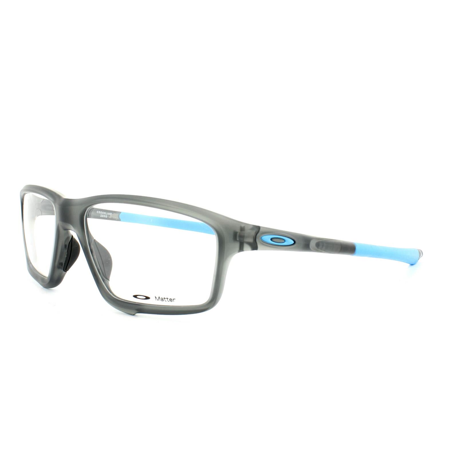 f4021d341c Sentinel Oakley Glasses Frames Crosslink Zero OX8076-01 Satin Grey