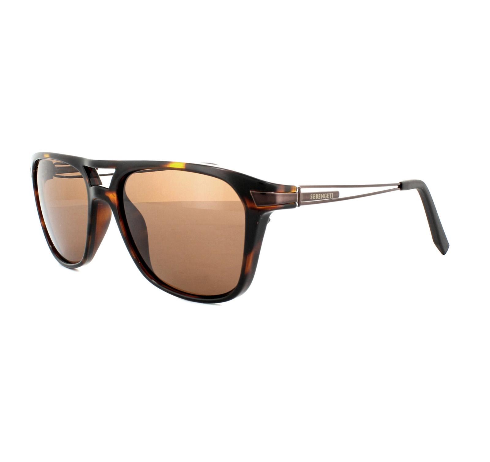 fa8e00cb5b Sentinel Serengeti Sunglasses Empoli 7761 Dark Tortoise Espresso Drivers  Brown Polarized