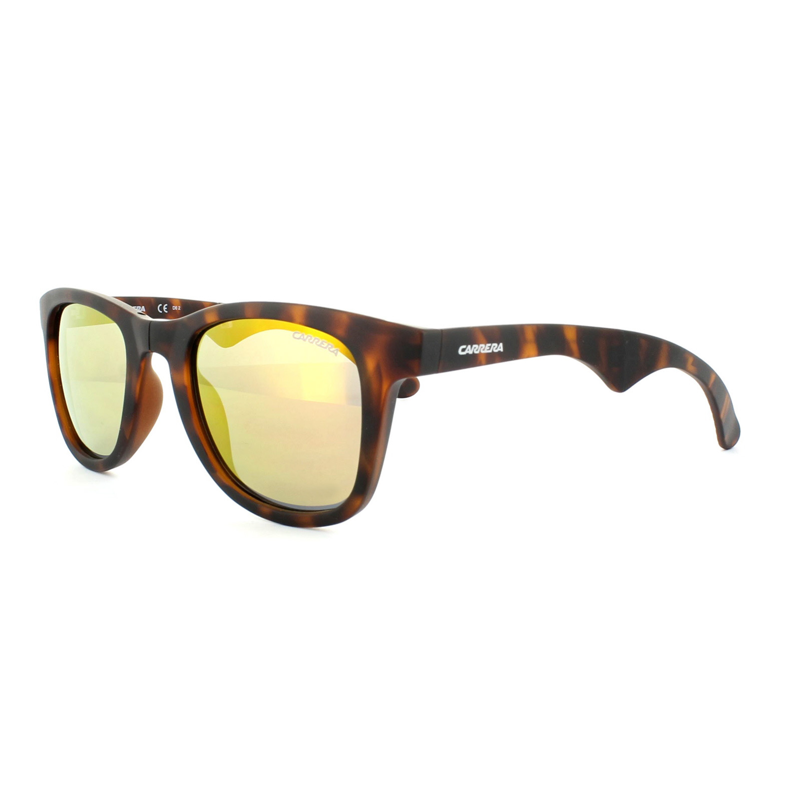 8ae4e4d0da2a Sentinel Carrera Sunglasses Carrera 6000/FD Folding 853 UW Havana Orange  Flash Mirror