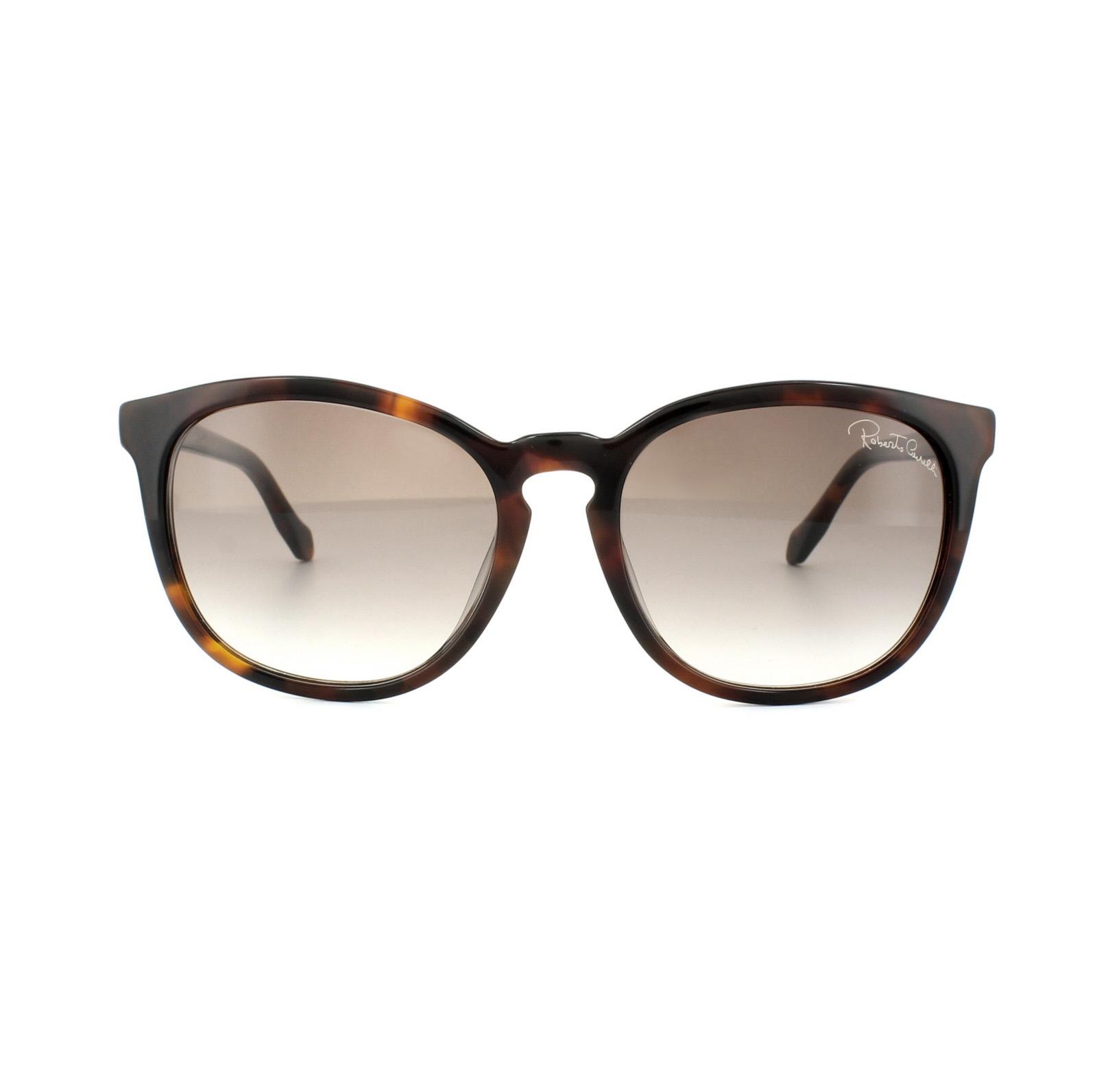 75a1650958125 CENTINELA Roberto Cavalli gafas de sol Zavijava 1019 52F Havana oscuro  marrón degradado