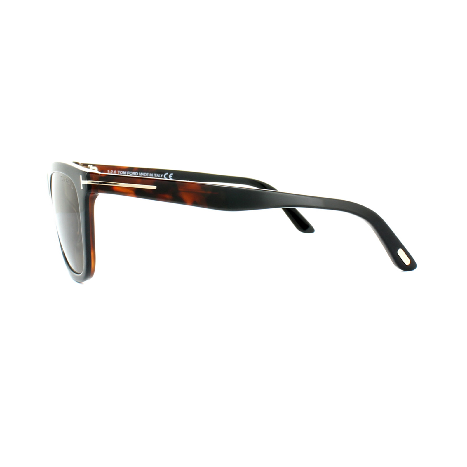 b5413ec0e9 Sentinel Tom Ford Sunglasses 0500 Andrew 05J Black Havana Roviex Brown