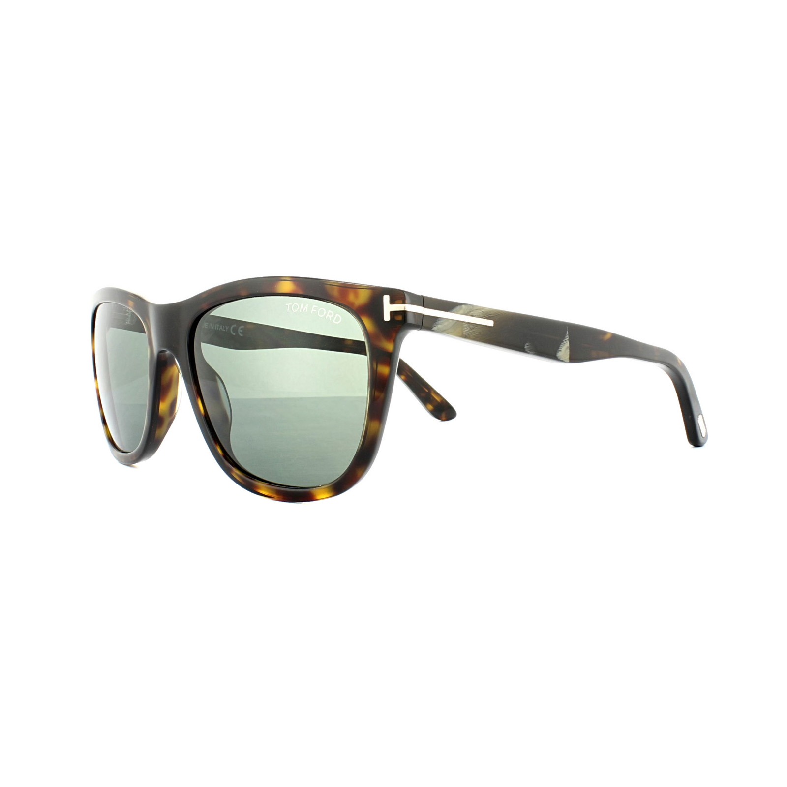 f99c036955 Tom Ford Sunglasses 0500 Andrew 52N Dark Havana Green 664689828654 ...