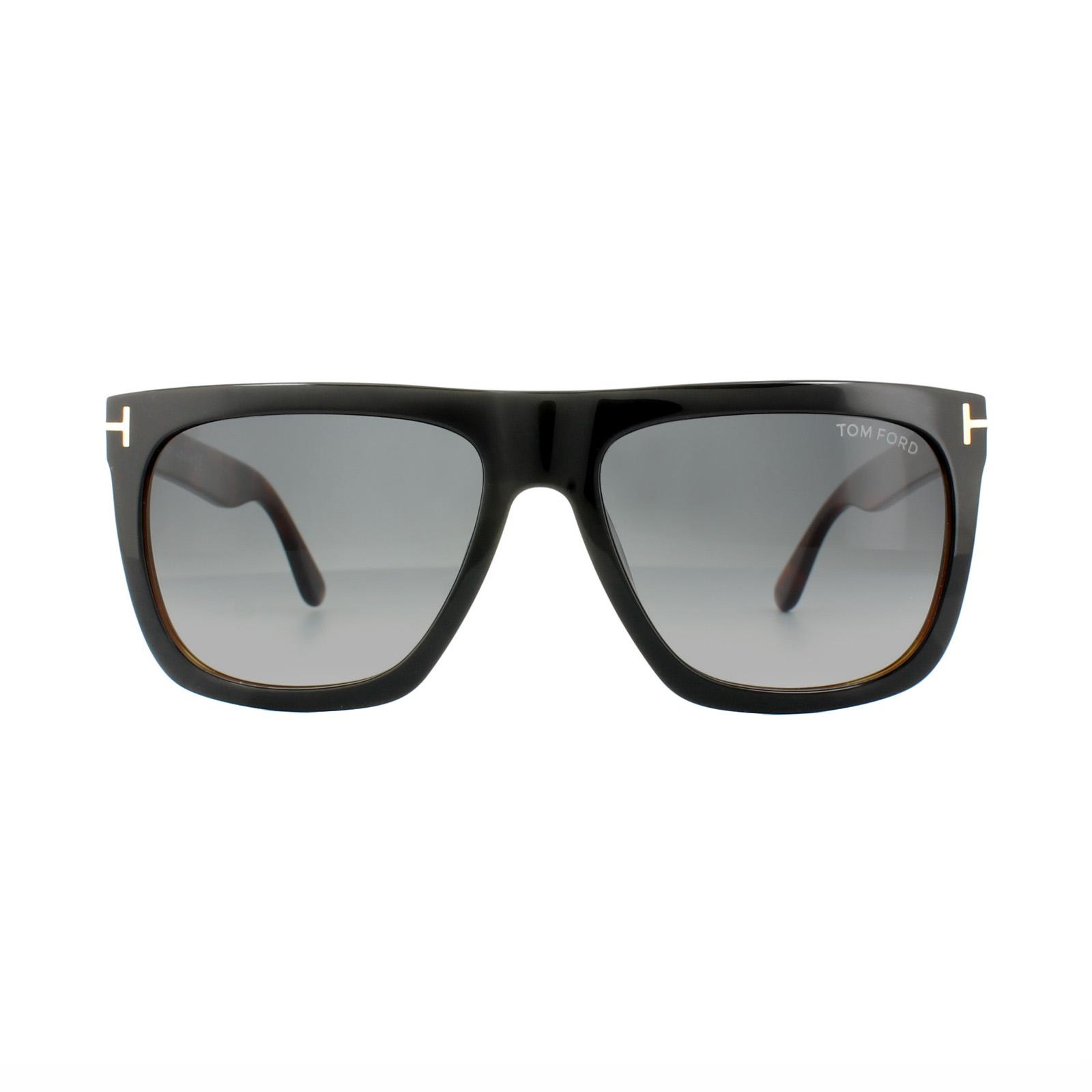 Tom Ford Sonnenbrille »Morgan FT0513«, schwarz, 05B - schwarz/grau