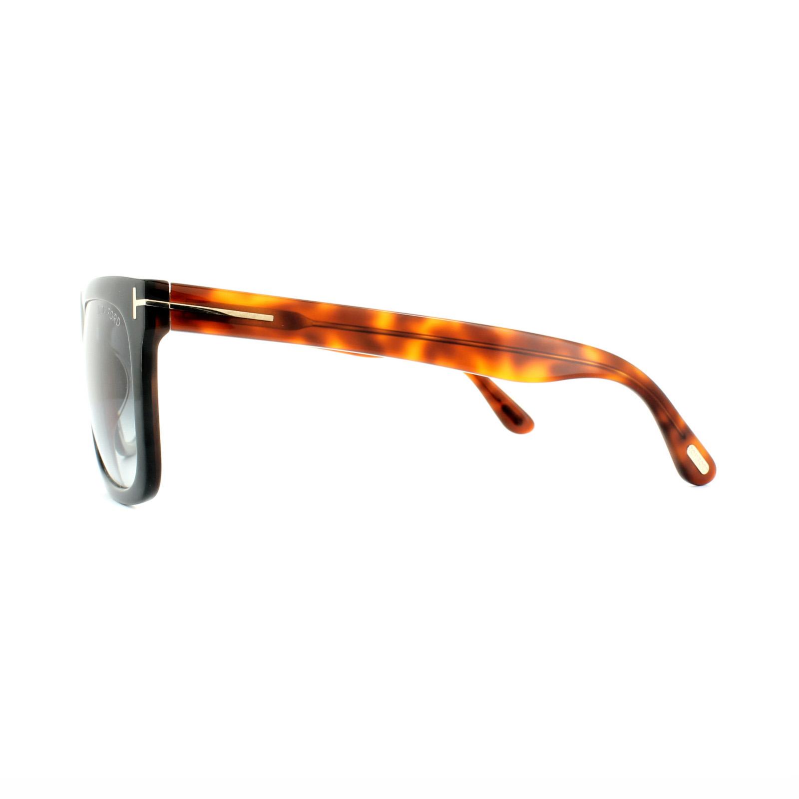 f6748c74eb4 Sentinel Tom Ford Sunglasses 0513 Morgan 05B Black Havana Grey Gradient