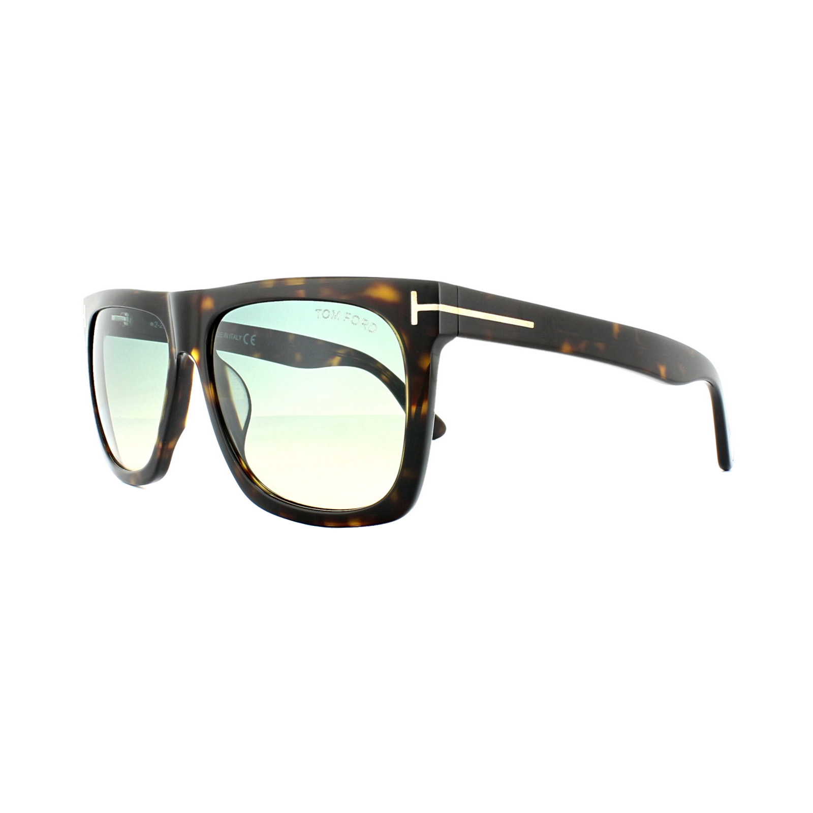Tom Ford Sonnenbrille »Morgan FT0513«, braun, 52W - braun/blau