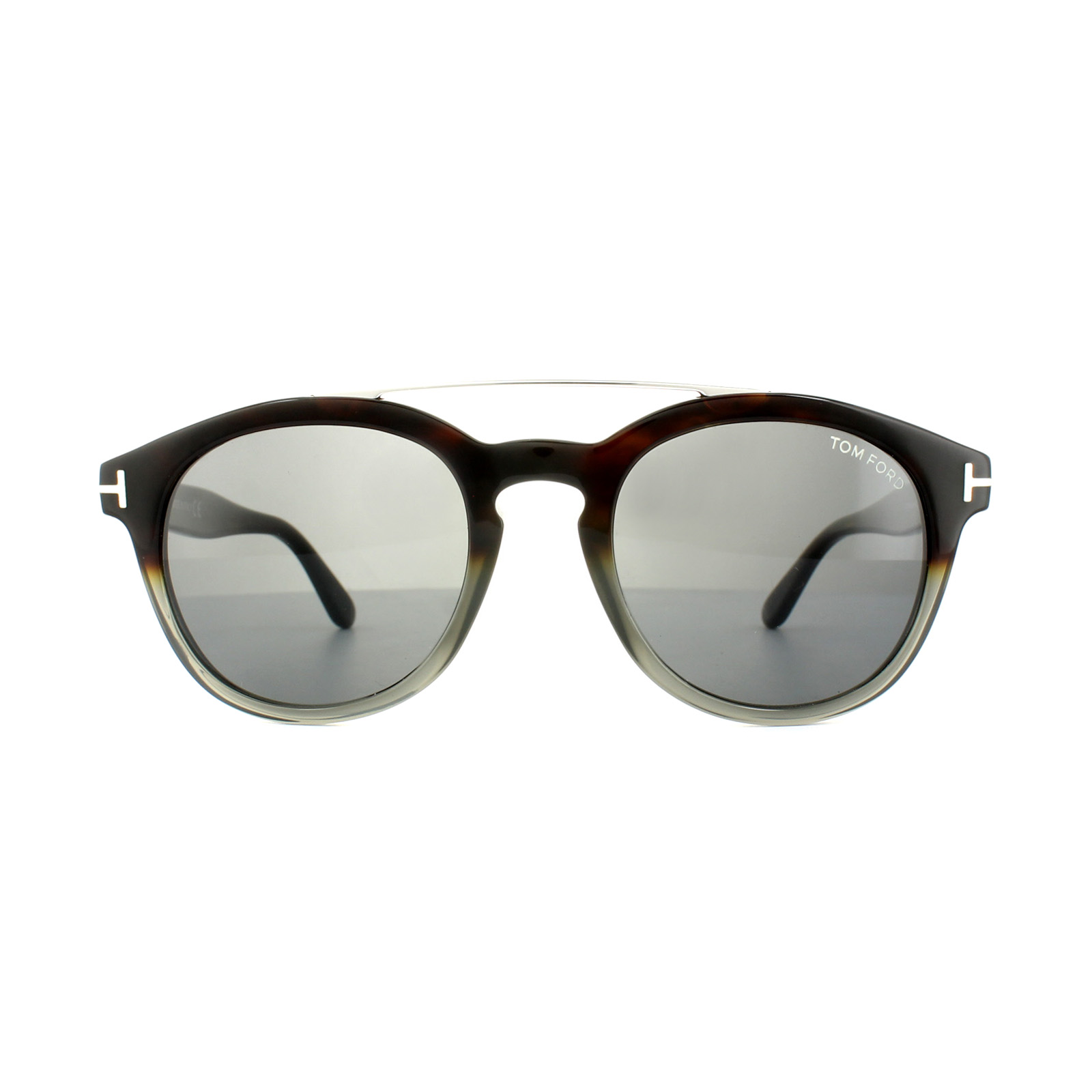 Sentinel Tom Ford Sunglasses 0515 Newman 56A Dark Havana Fade Grey 245a5b6f7f95