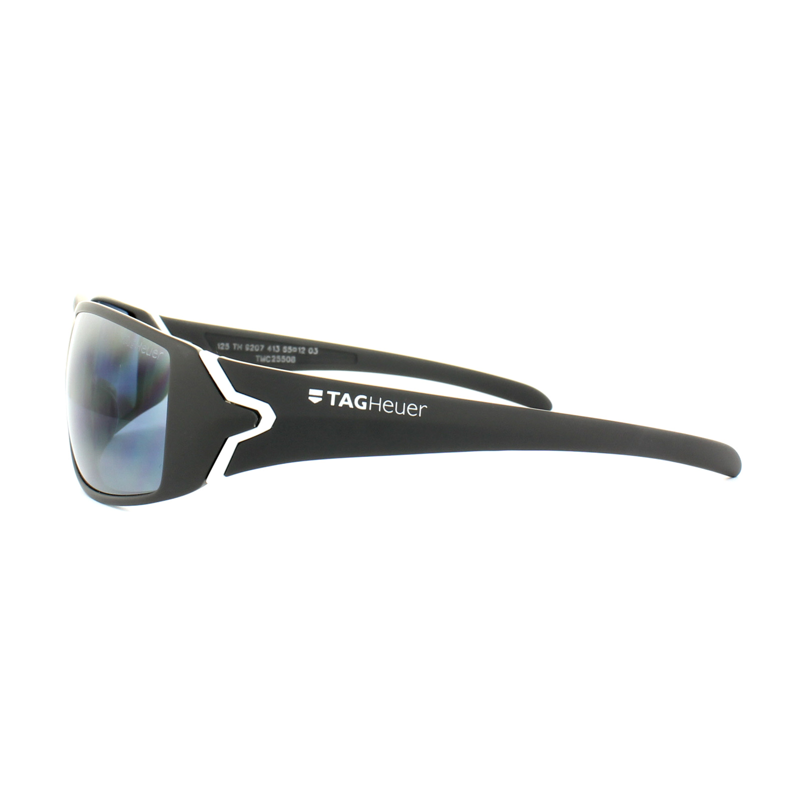 TAG HEUER RACER TEAM USA AMERICAS CUP TH9202 107 Mens Sport Sunglasses RED GREY
