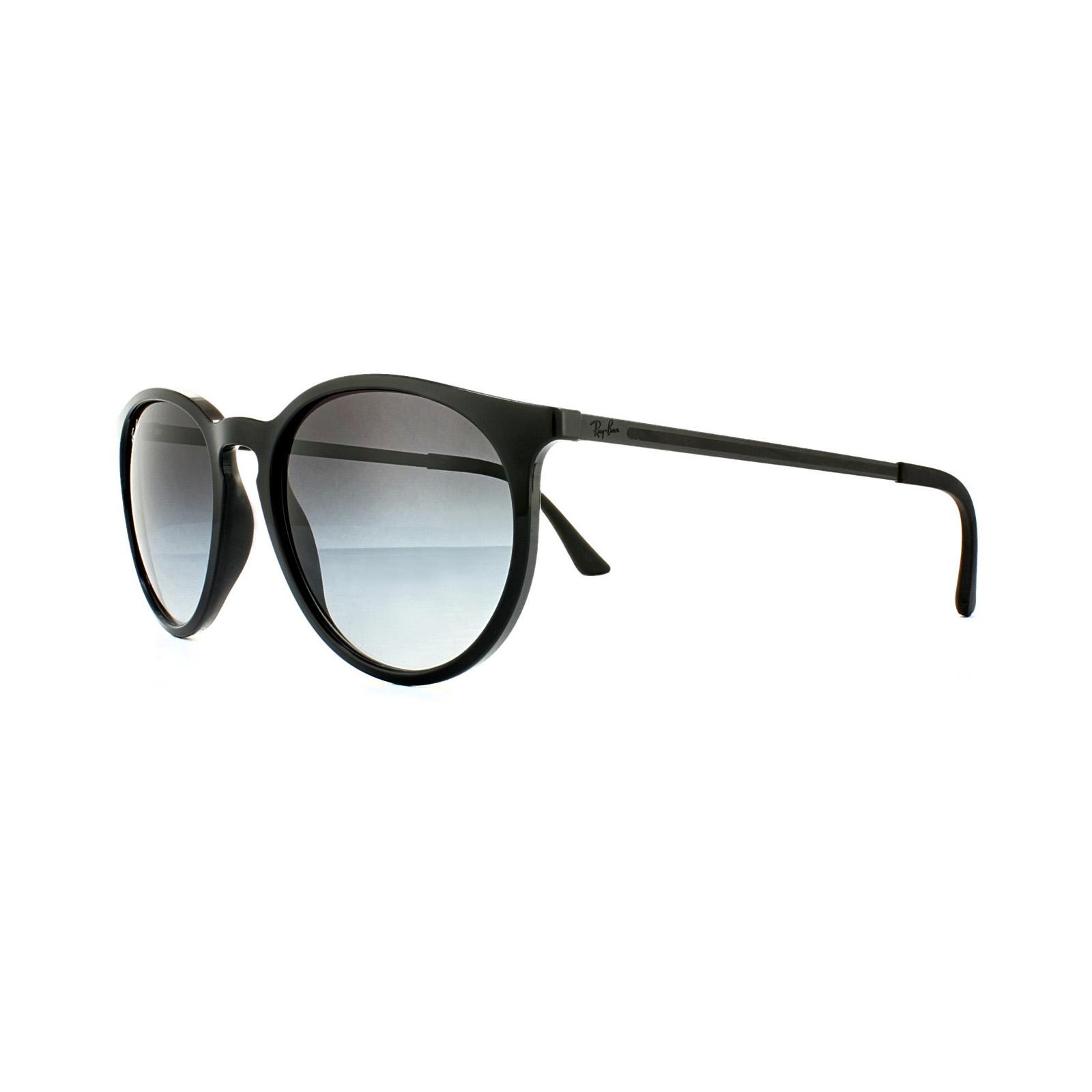 RAY BAN RAY-BAN Sonnenbrille » RB4274«, schwarz, 601/8G - schwarz/grau