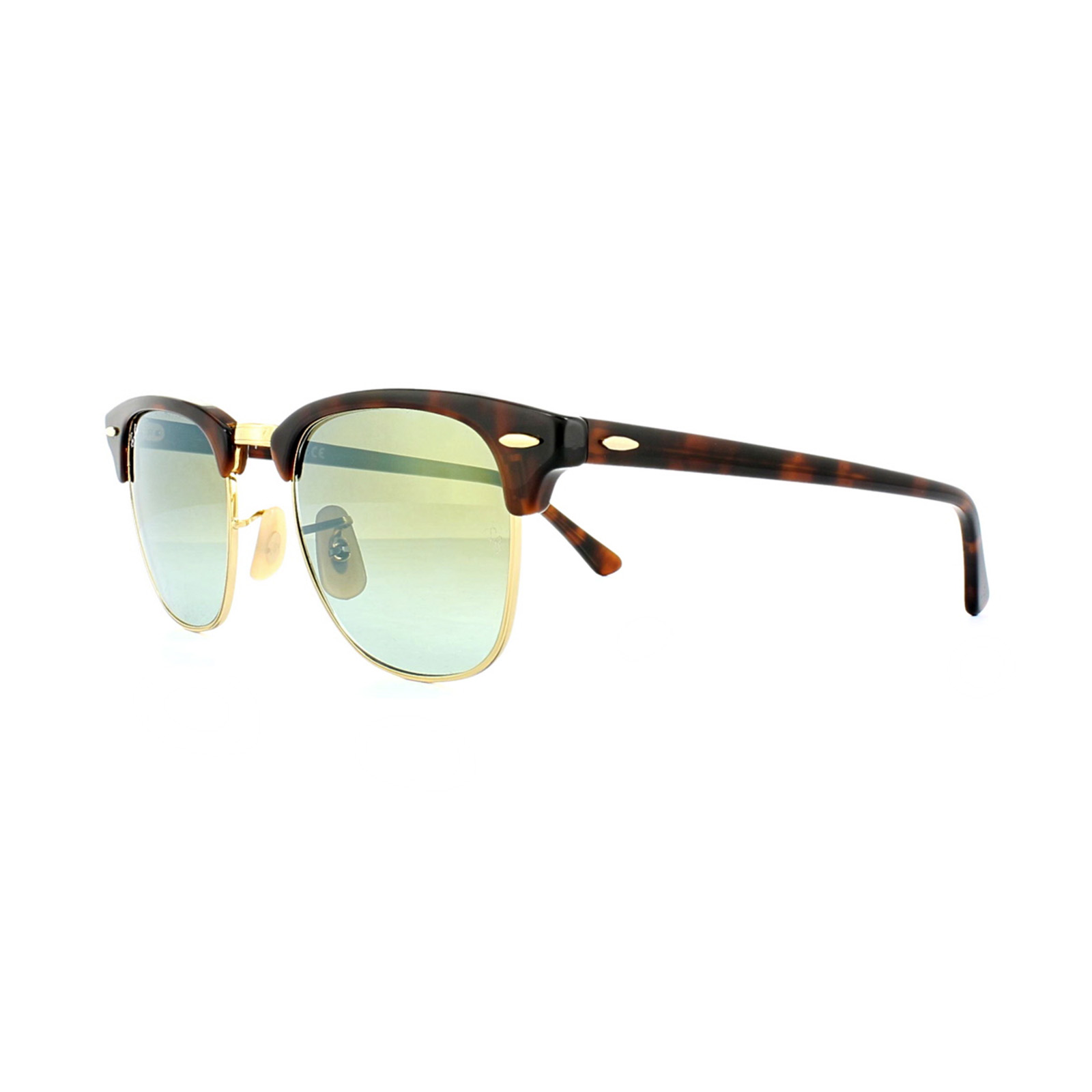 b4f5537795 Sentinel Thumbnail 1. Sentinel Ray-Ban Sunglasses Clubmaster 3016 990 9J  Tortoise Green ...