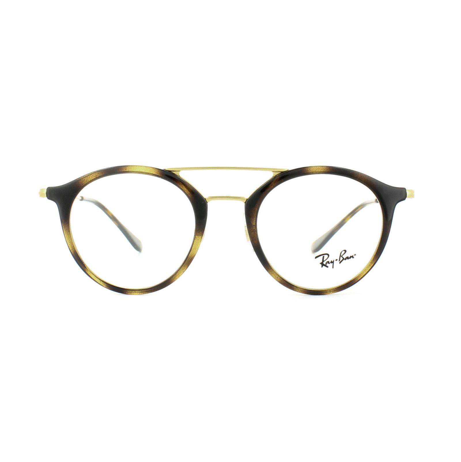 95eece87bb1 Sentinel Ray-Ban Glasses Frames 7097 2012 Havana Gold