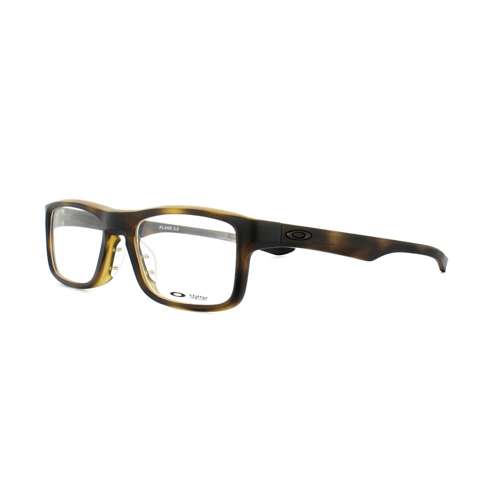 9f6dffe67b Sentinel Oakley Glasses Frames Plank 2.0 OX8081-04 Brown Tortoise