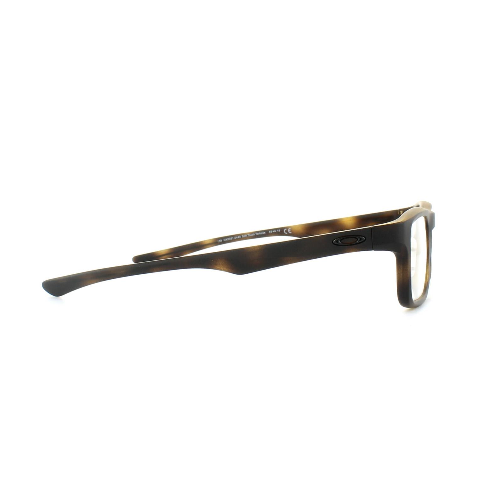 35831648161 Sentinel Oakley Glasses Frames Plank 2.0 OX8081-04 Brown Tortoise