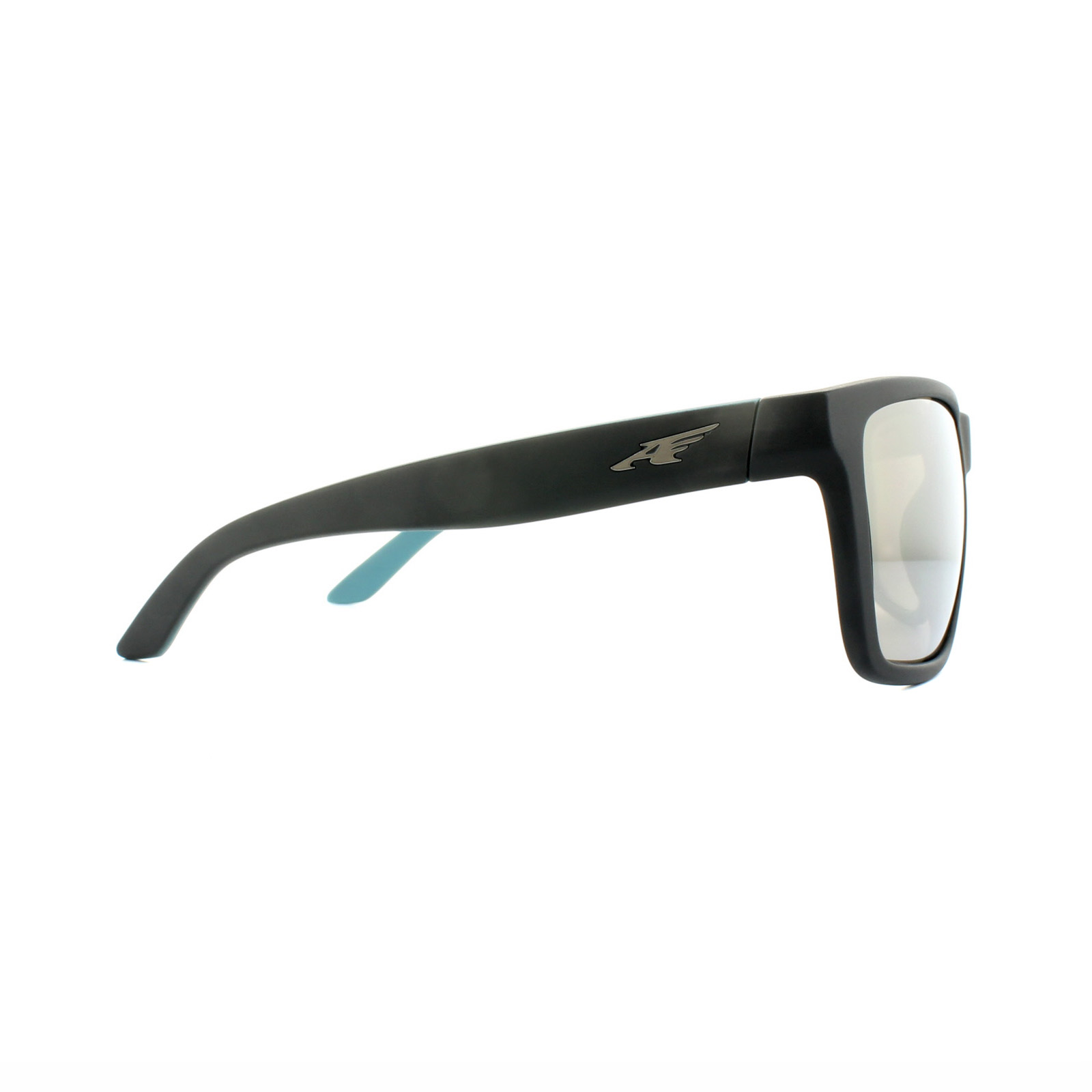 7cee8081a6 Sentinel Arnette Sunglasses Witch Doctor 4177 24355A Black Turquoise Brown  Mirror Gold