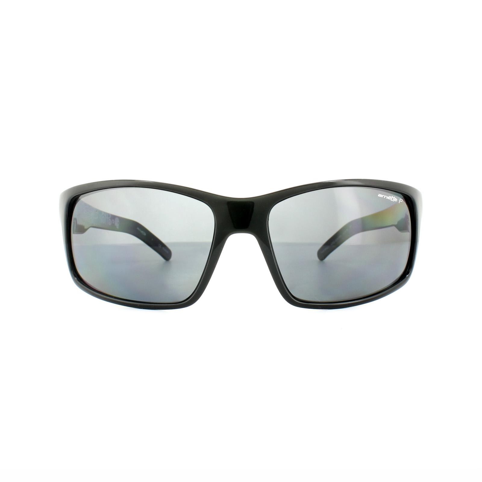 a6a65cb787a Sentinel Thumbnail 2. Sentinel Arnette Sunglasses Fastball 4202 226781  Black on Graphics Grey Polarized