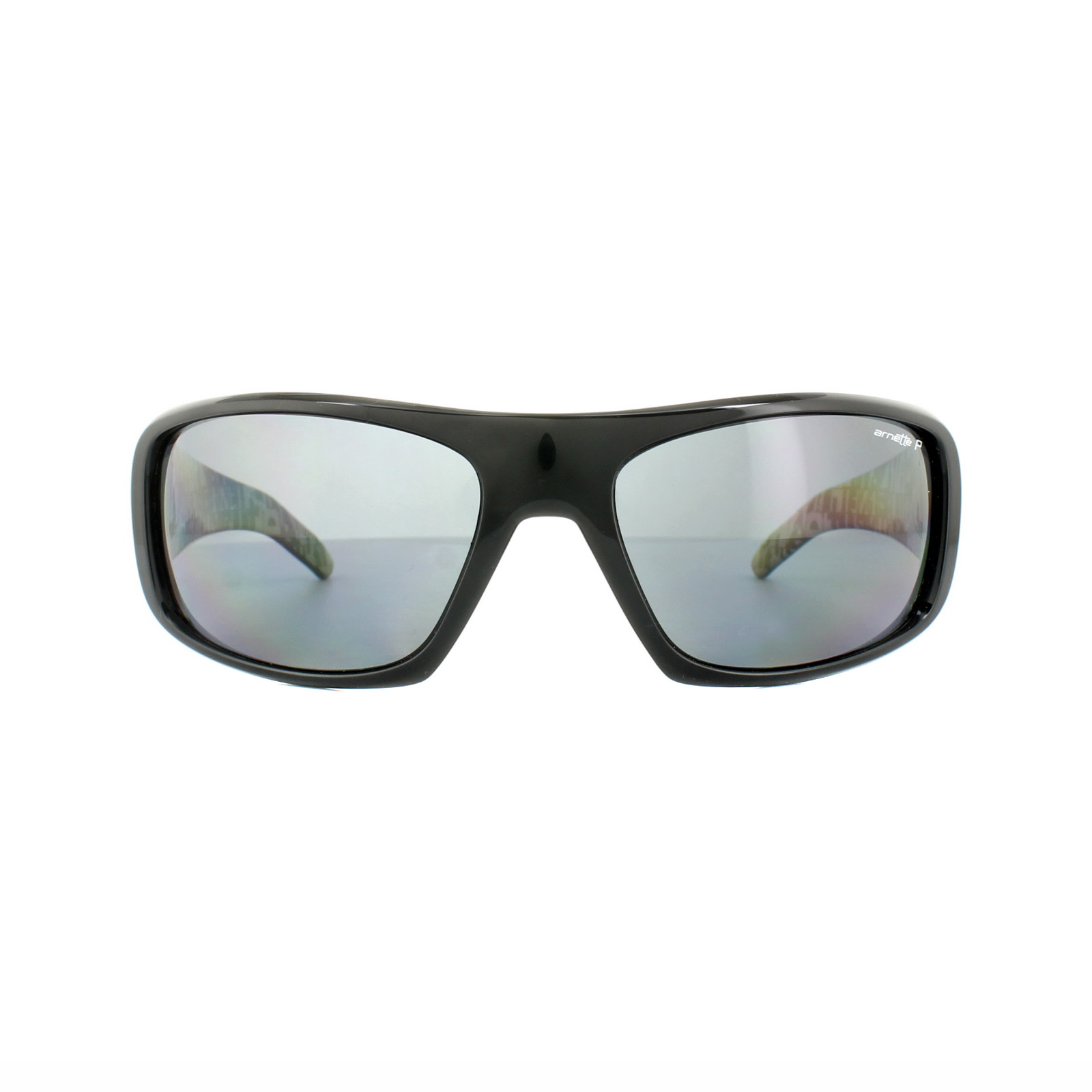 bf5966275b Sentinel Thumbnail 2. Sentinel Arnette Sunglasses Hot Shot 4182 214981  Polished Black Graphics Grey Polarized